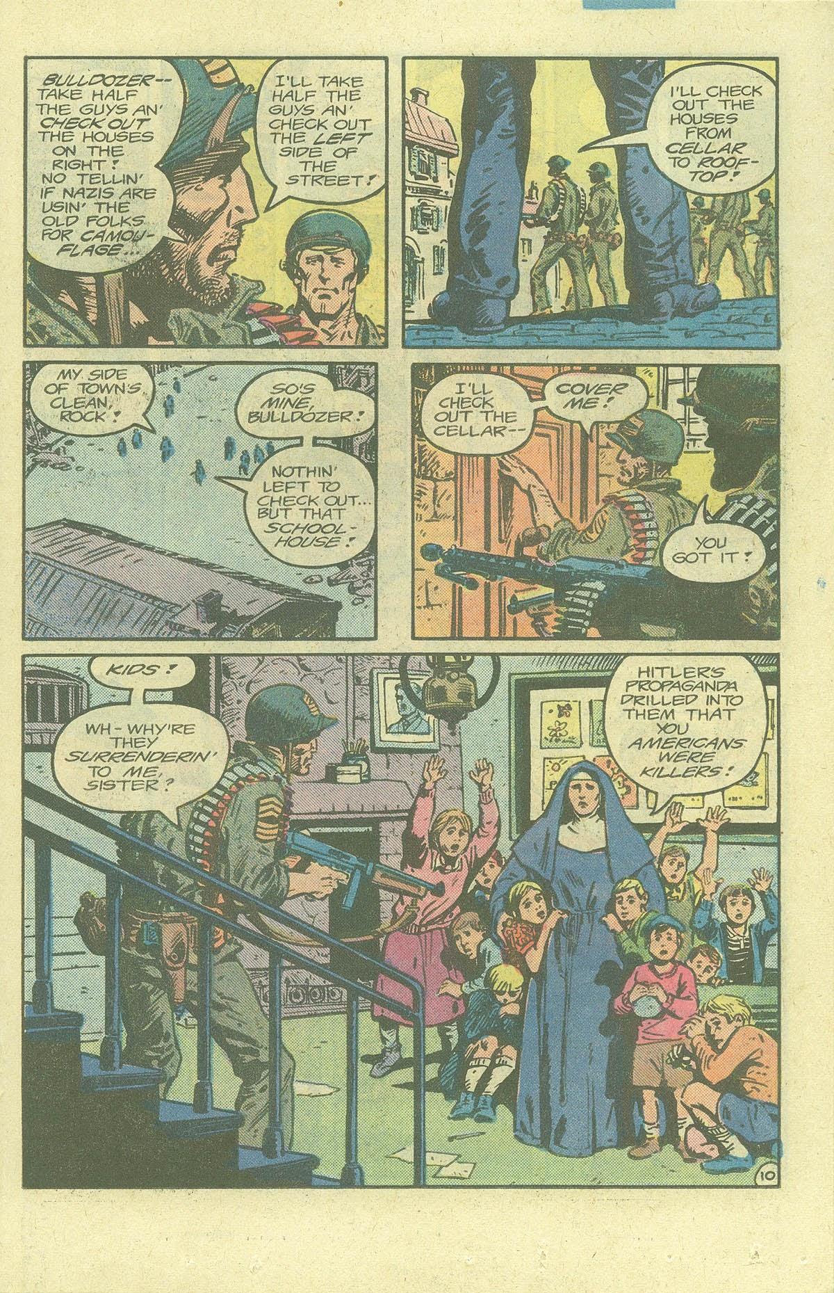 Read online Sgt. Rock comic -  Issue #378 - 14