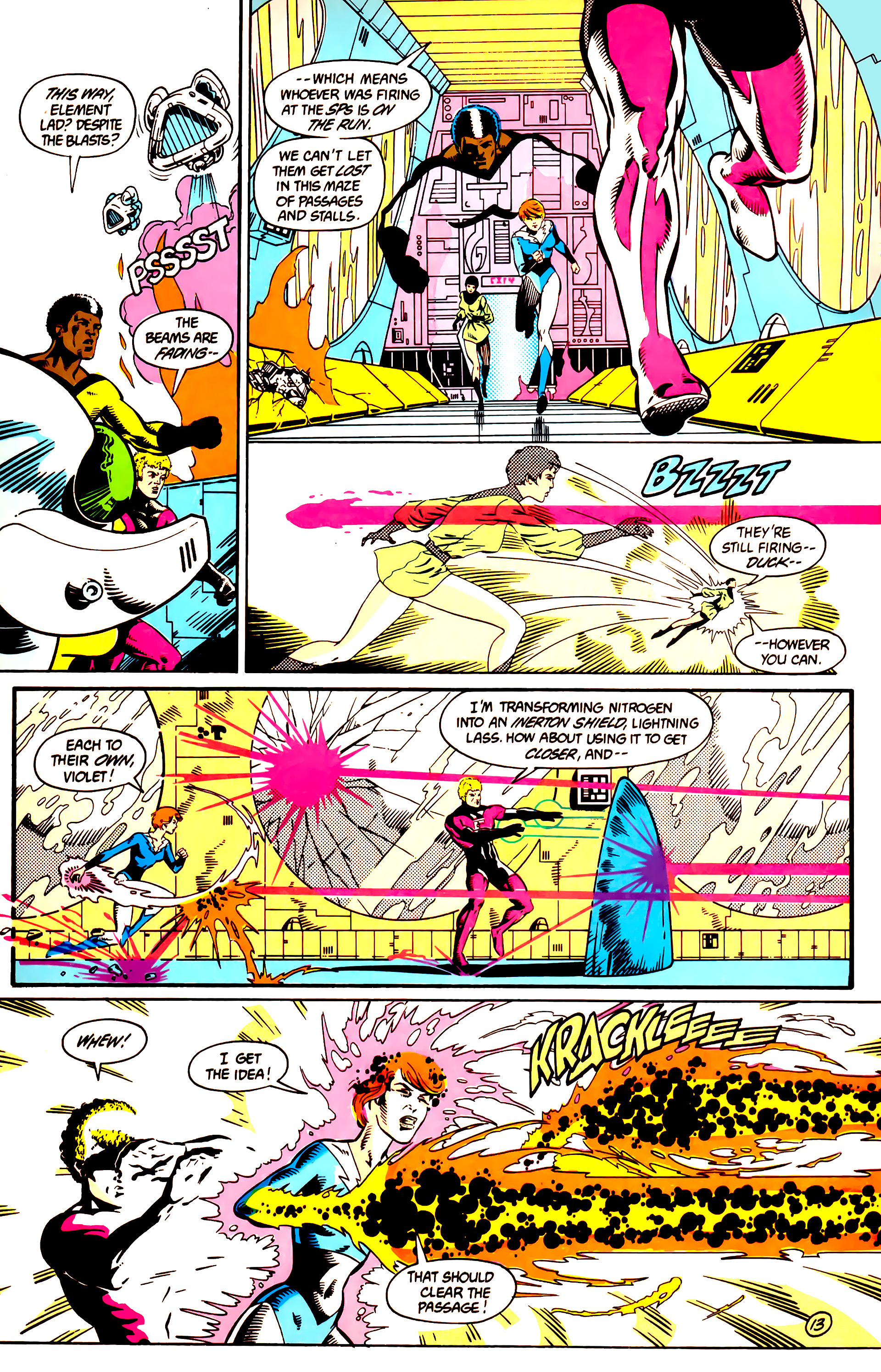 Legion of Super-Heroes (1984) 9 Page 14