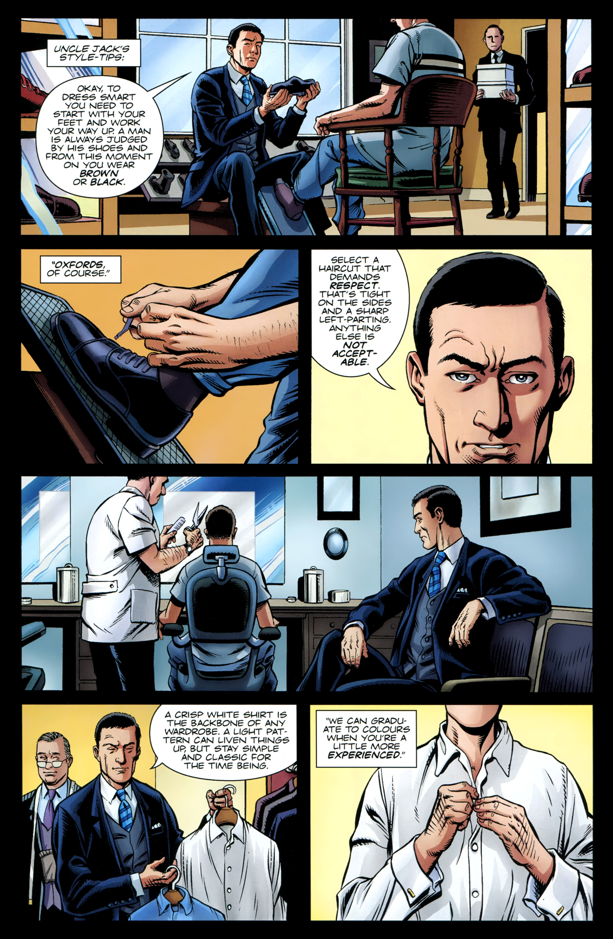 Read online Secret Service comic -  Issue #4 - 18