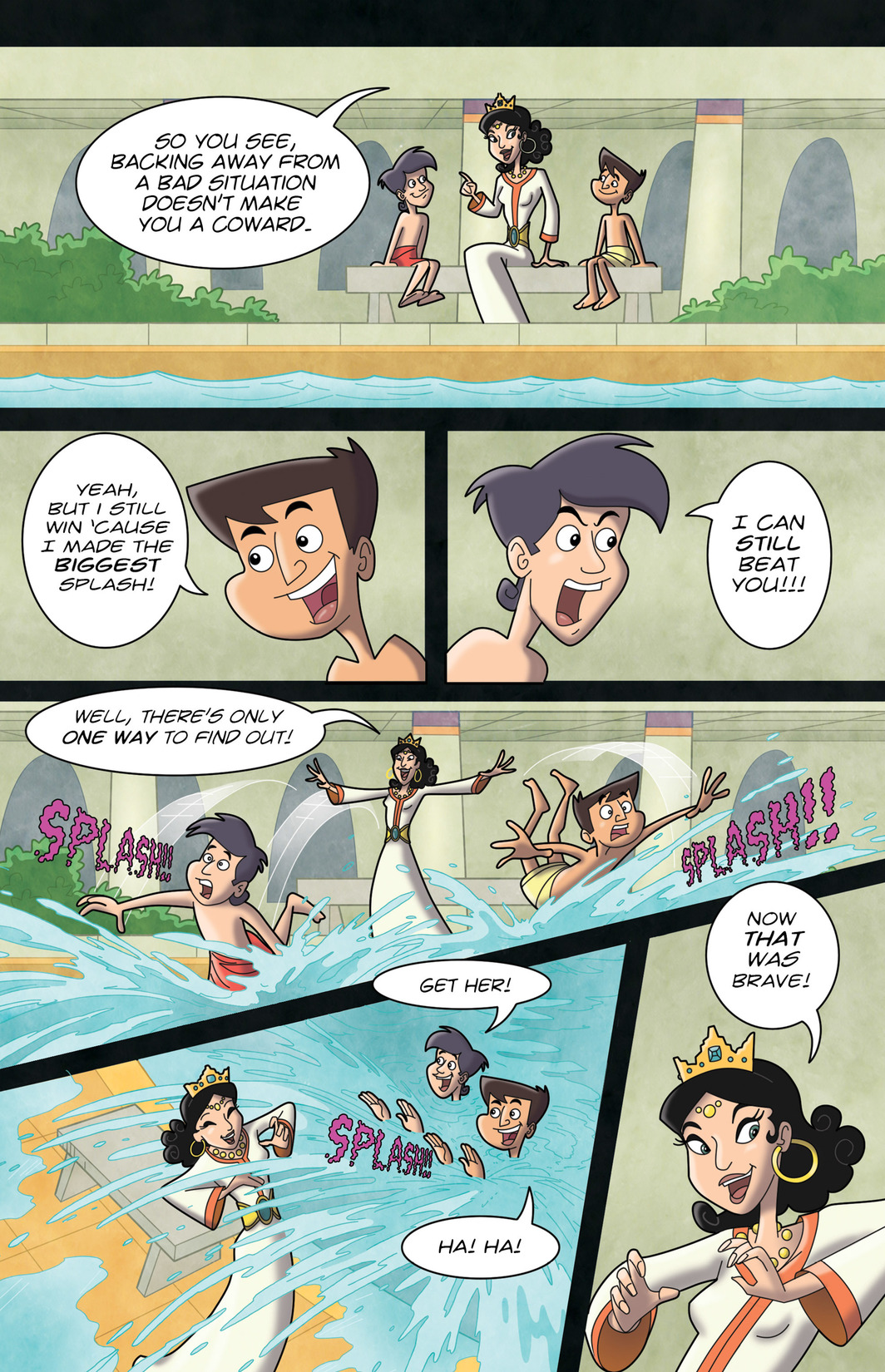 Read online 1001 Nights comic -  Issue #7 - 24