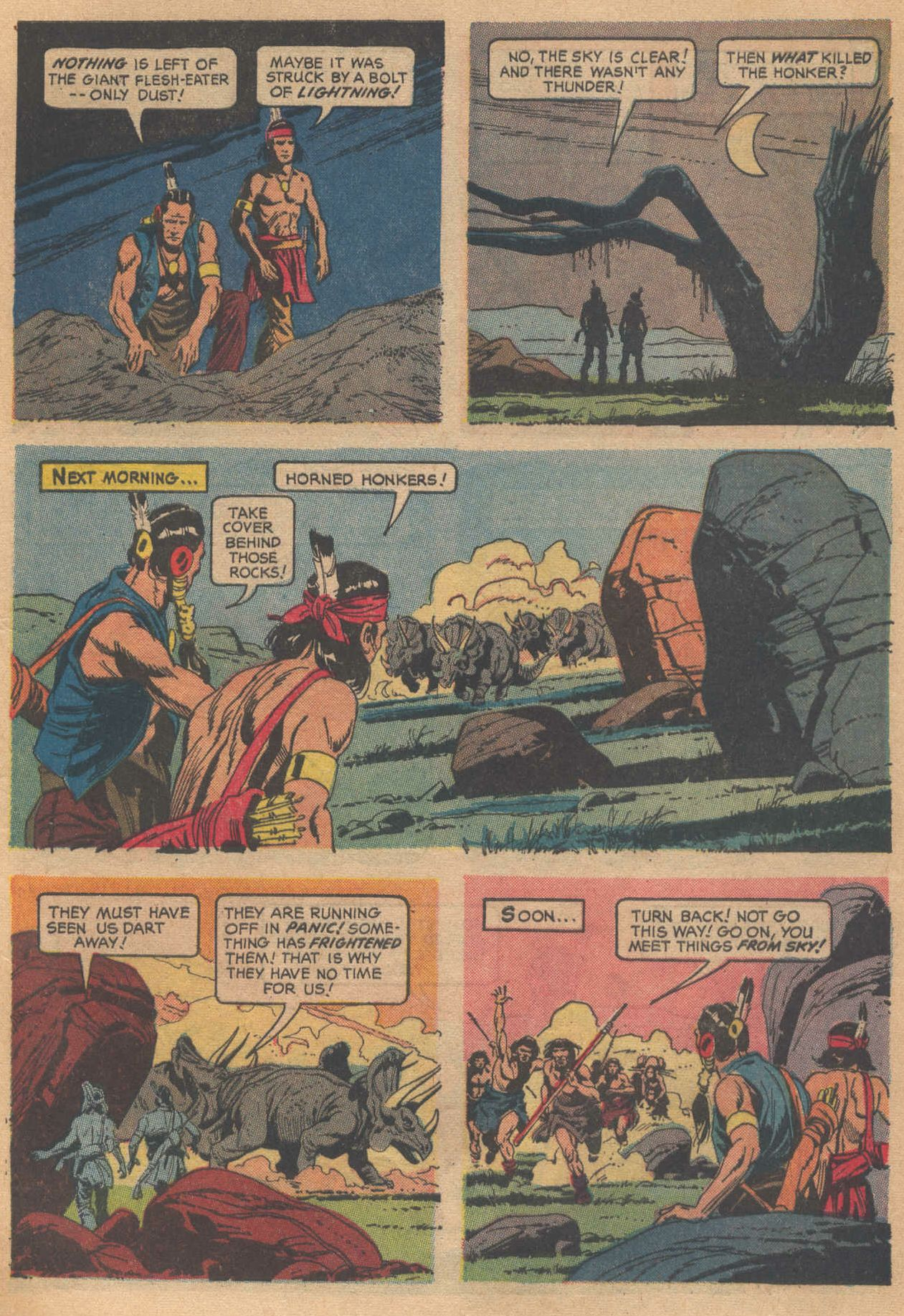 Read online Turok, Son of Stone comic -  Issue #58 - 5