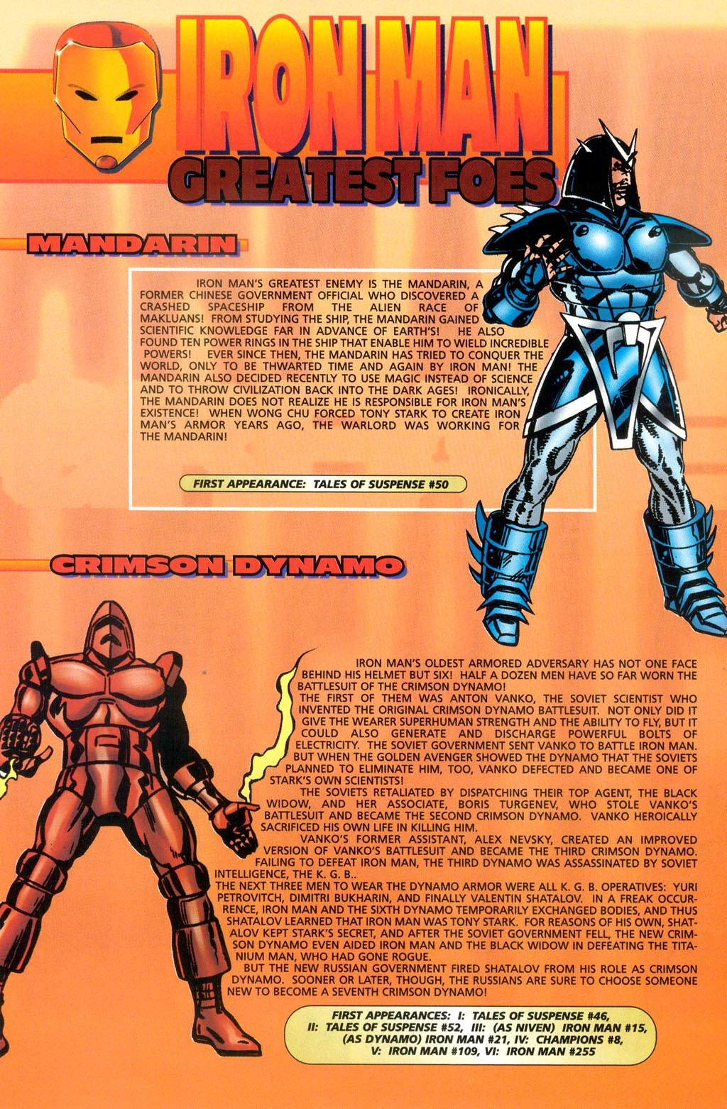 Read online Iron Man: The Legend comic -  Issue # Full - 26