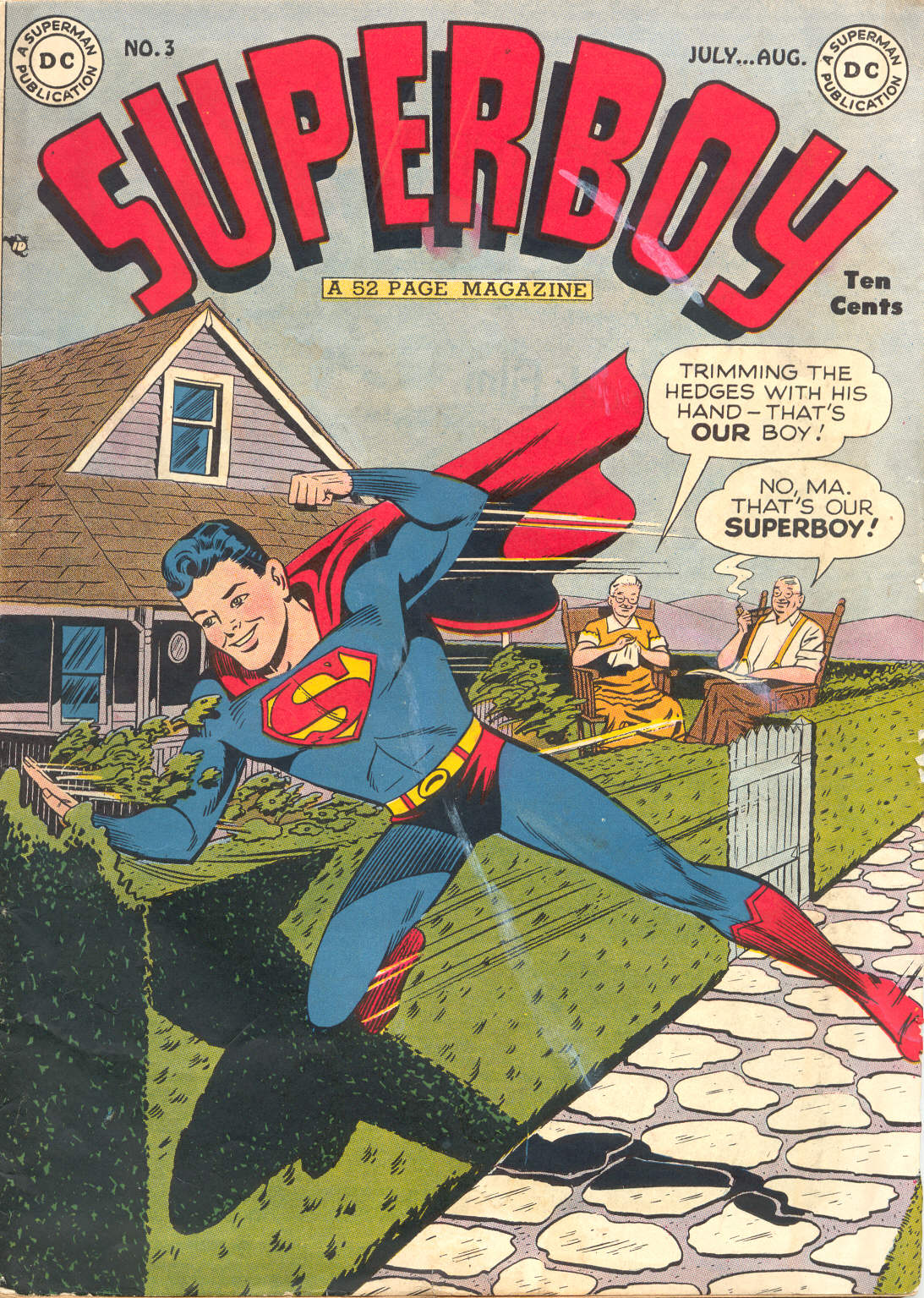 Superboy (1949) issue 3 - Page 1