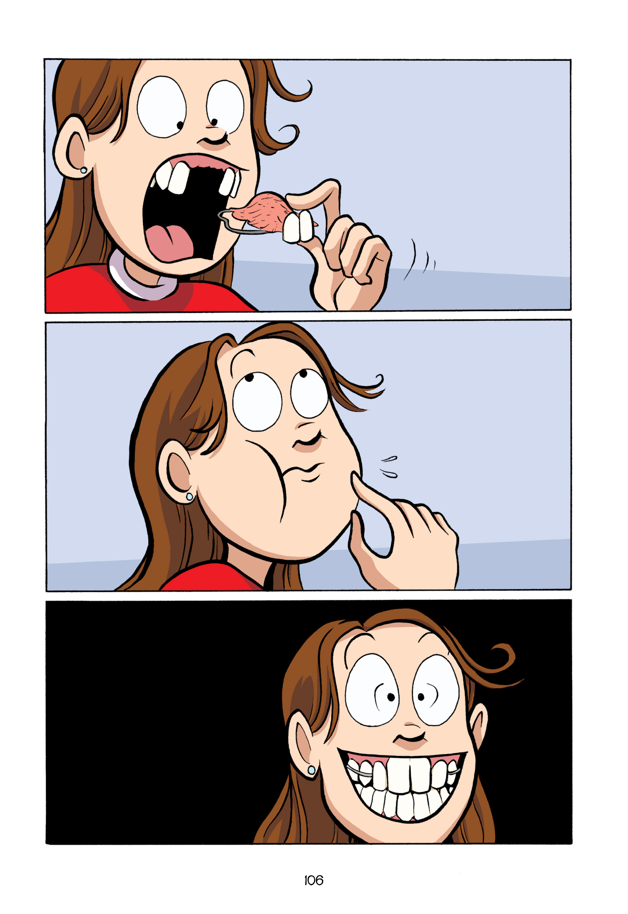 Read online Smile comic -  Issue # TPB - 112
