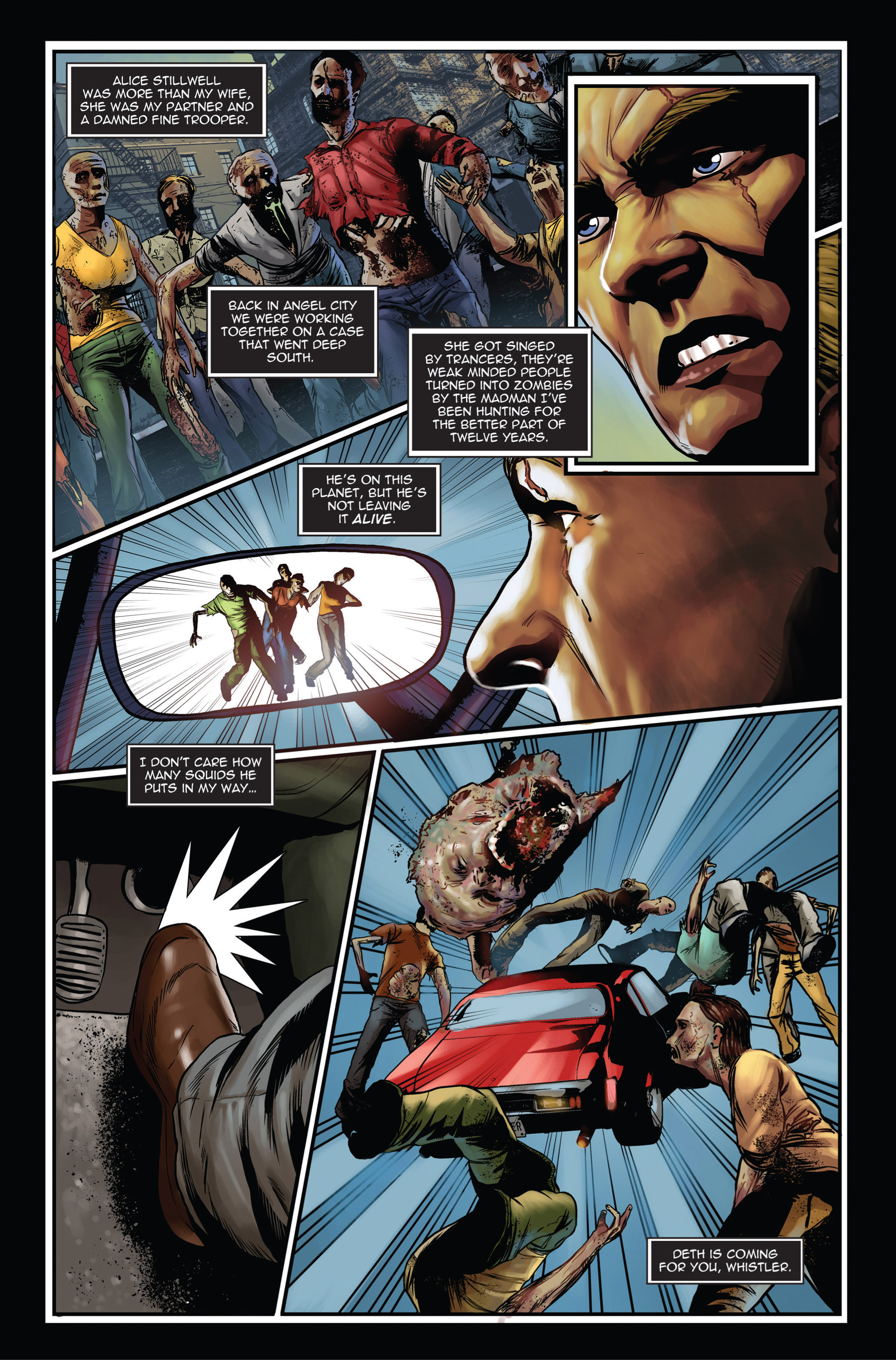 Read online Trancers comic -  Issue #1 - 7