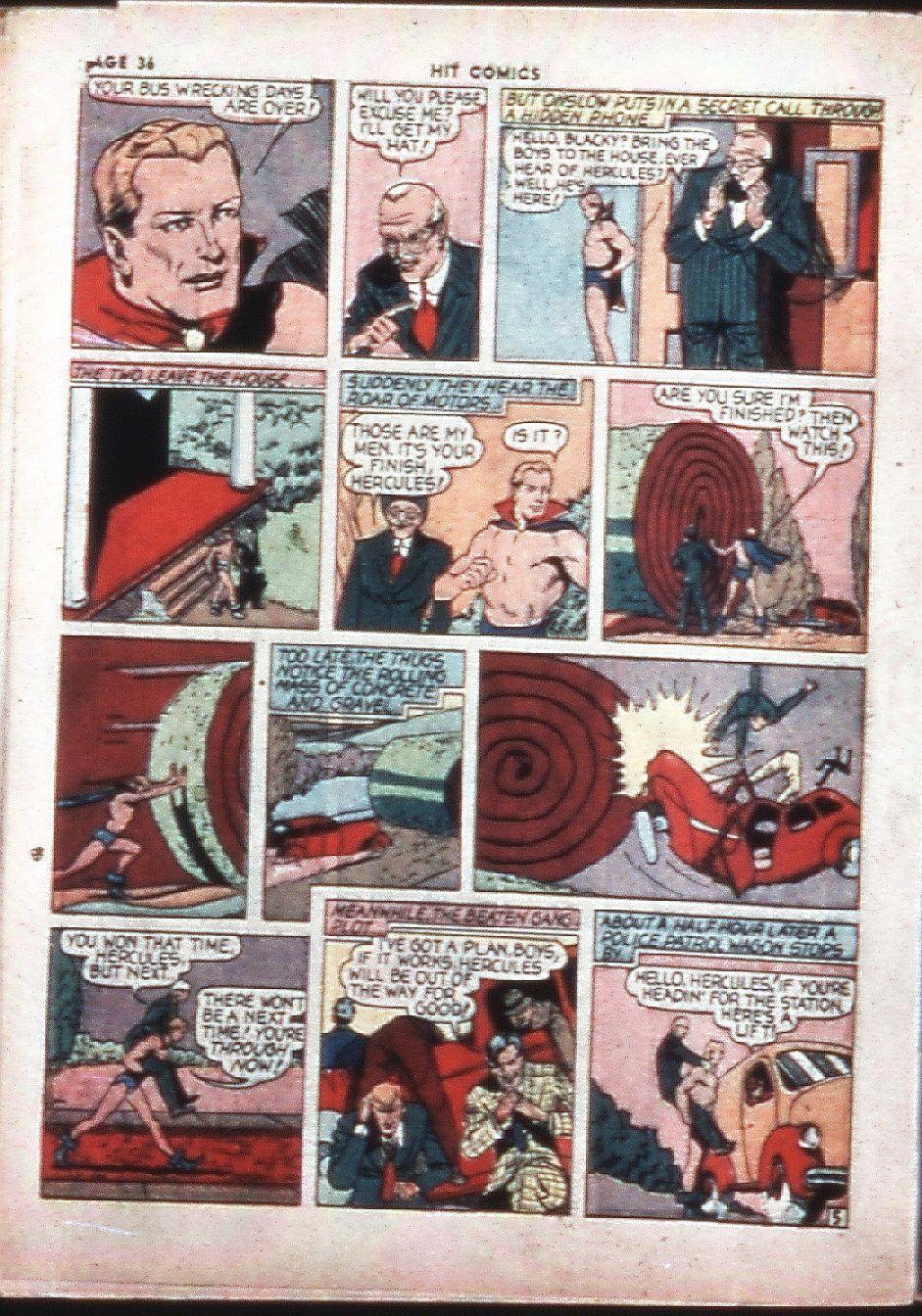 Read online Hit Comics comic -  Issue #4 - 38