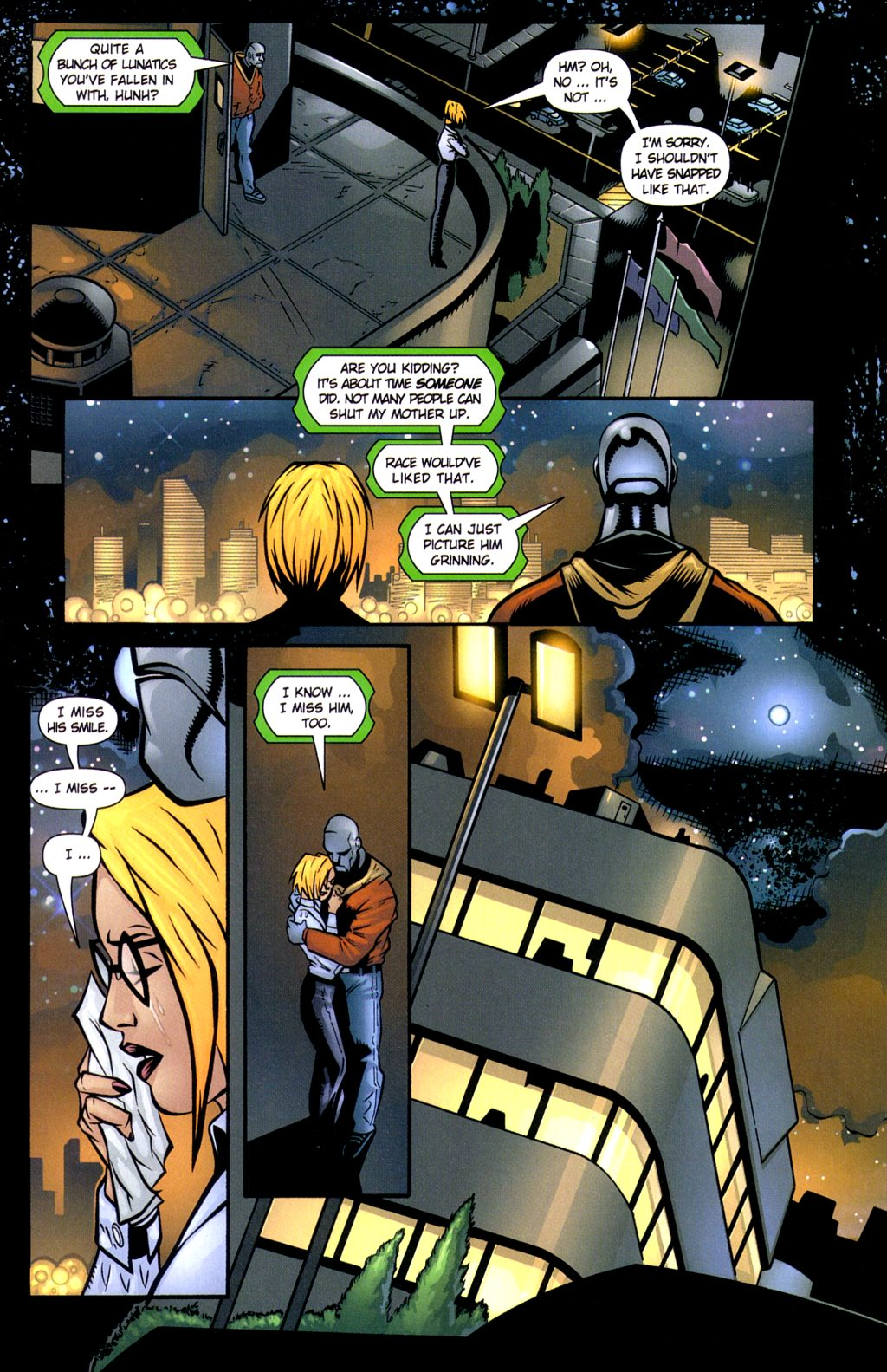 Read online Noble Causes (2002) comic -  Issue #3 - 15