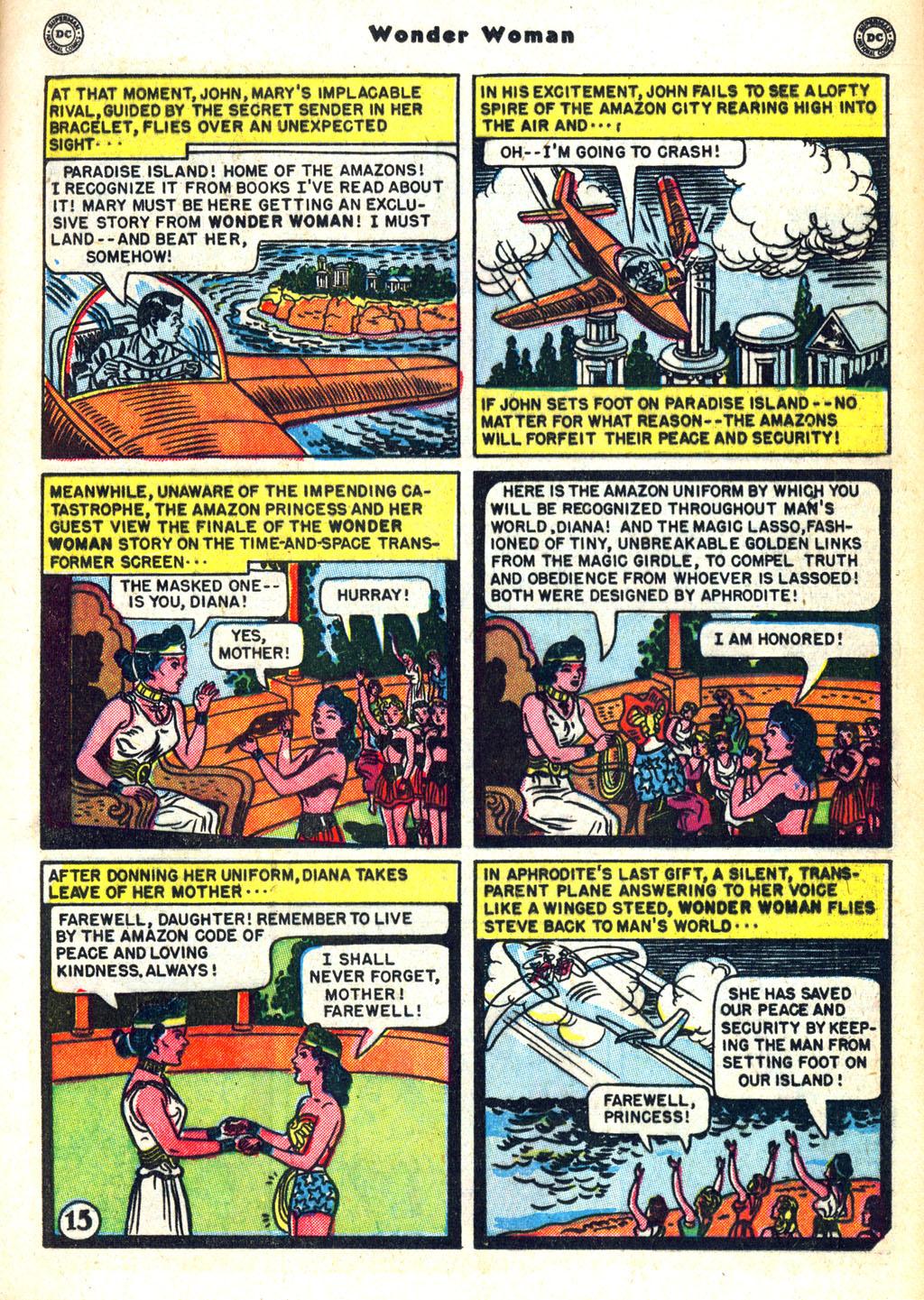 Read online Wonder Woman (1942) comic -  Issue #45 - 19