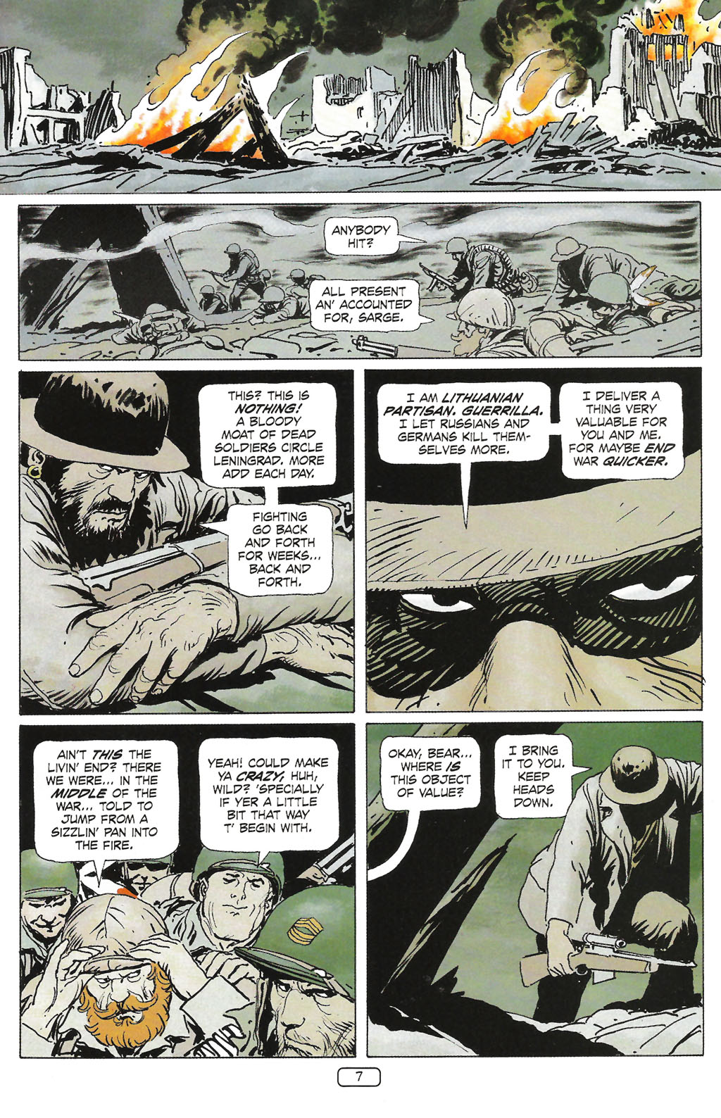 Read online Sgt. Rock: The Prophecy comic -  Issue #1 - 9
