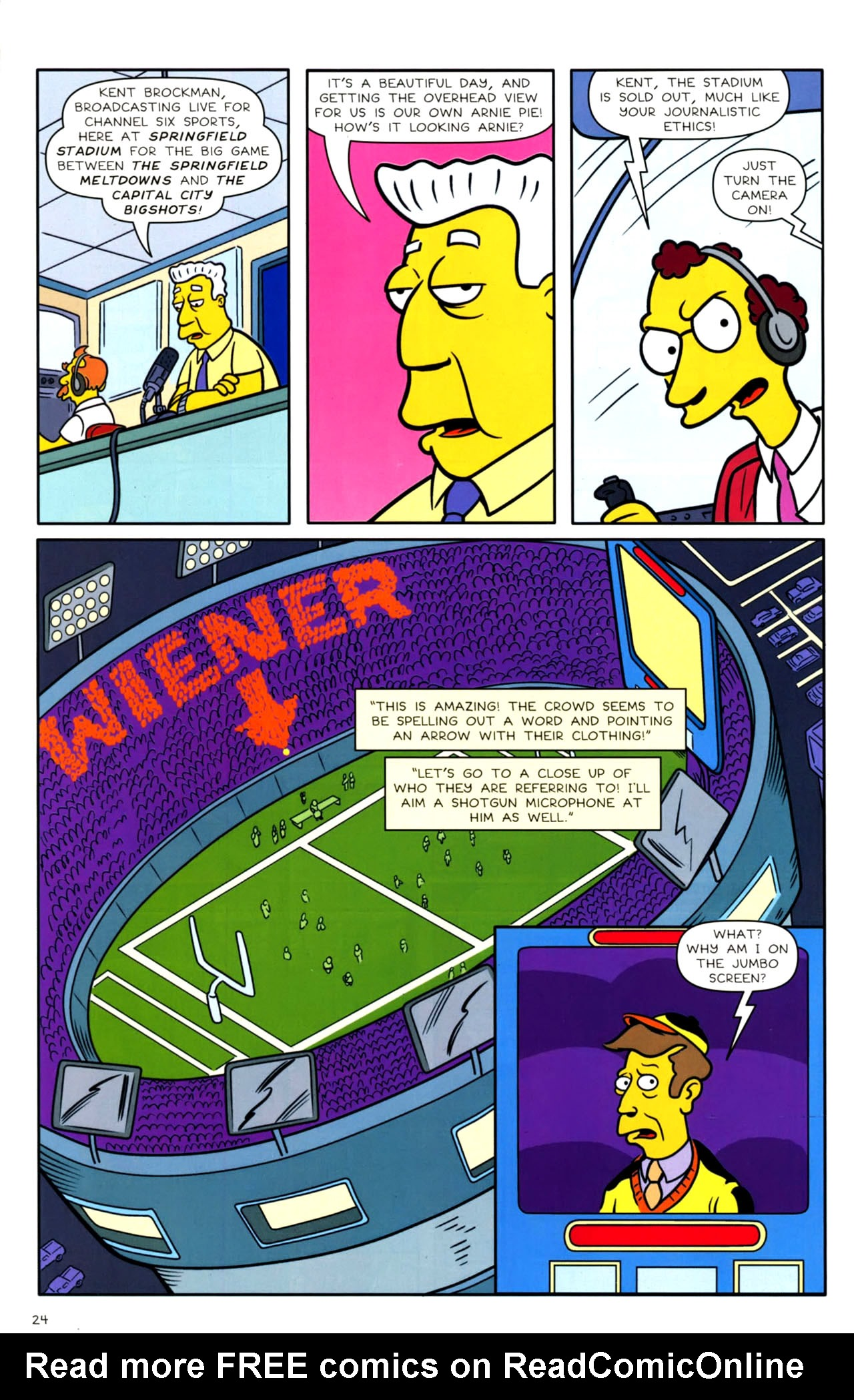 Read online Bongo Comics presents Comic Book Guy: The Comic Book comic -  Issue #4 - 26