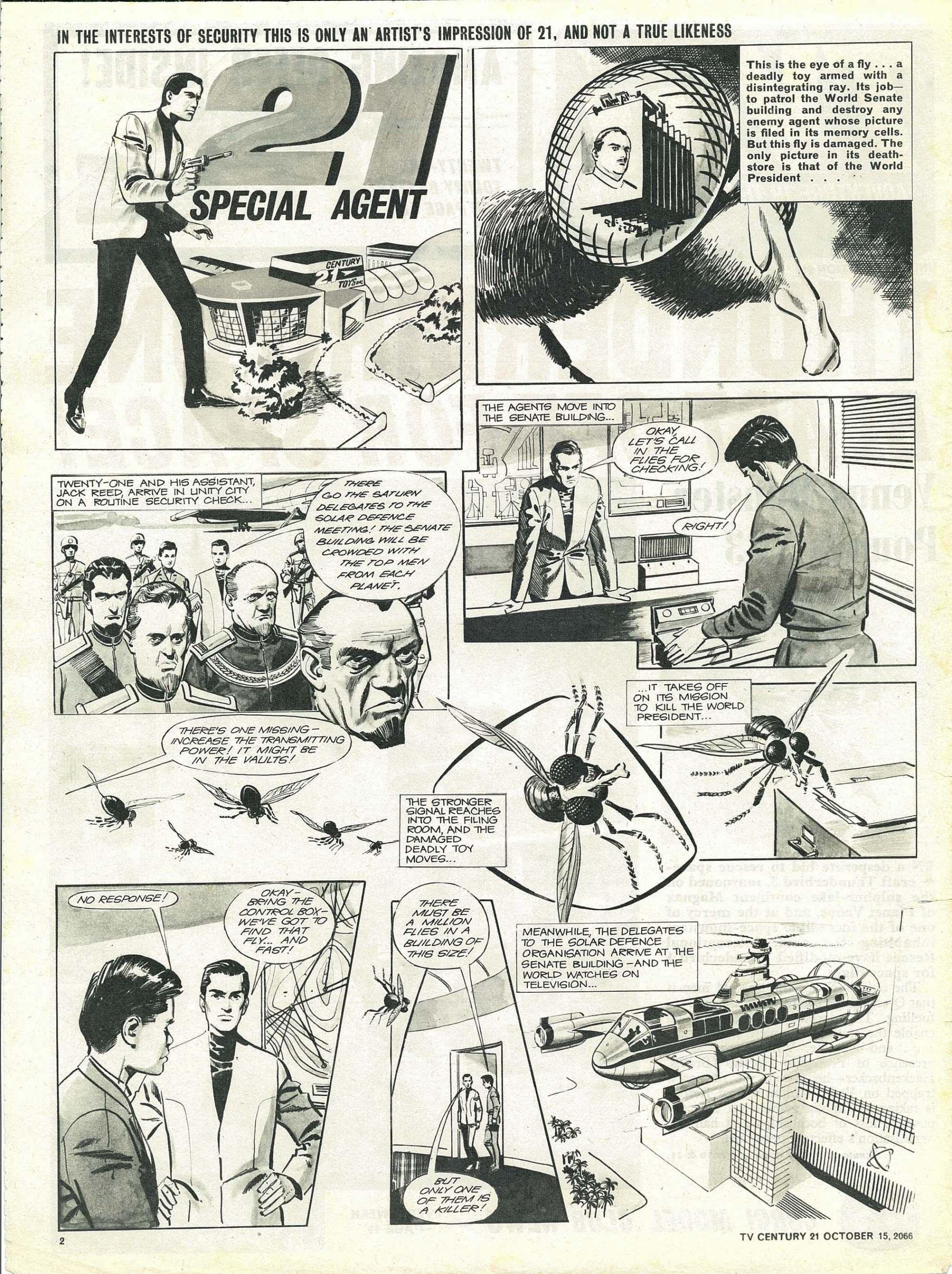 Read online TV Century 21 (TV 21) comic -  Issue #91 - 2