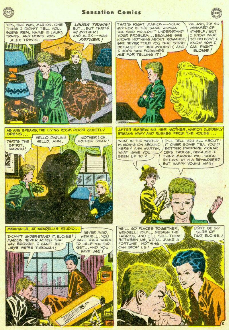Read online Sensation (Mystery) Comics comic -  Issue #98 - 47