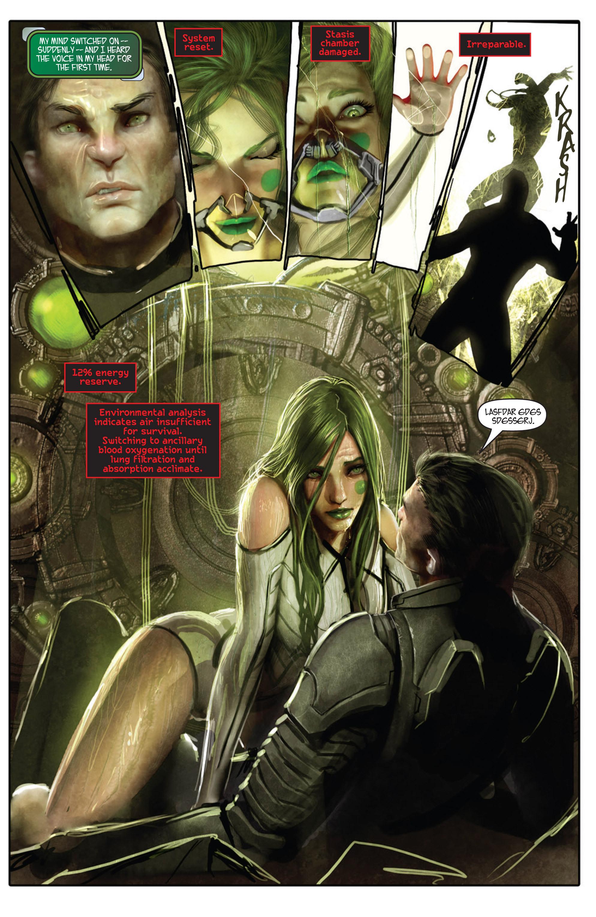 Read online Aphrodite IX (2013) comic -  Issue #Aphrodite IX (2013) _TPB 1 - 15