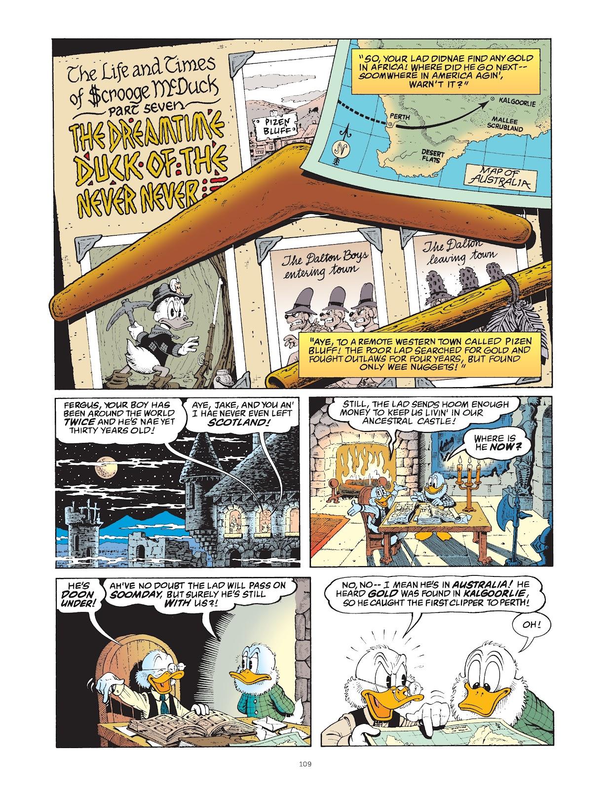 Read online The Complete Life and Times of Scrooge McDuck comic -  Issue # TPB 1 (Part 2) - 9