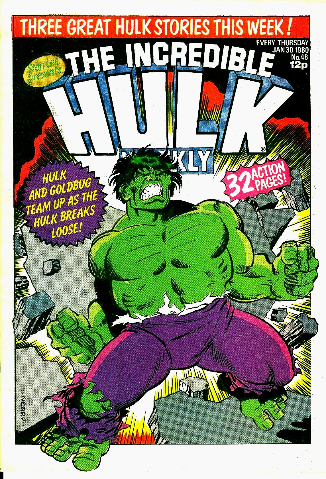 The Incredible Hulk Weekly 48 Page 1