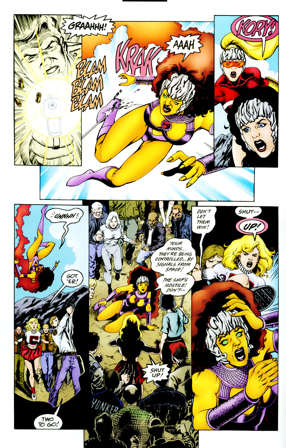 Read online The Titans (1999) comic -  Issue #50 - 5