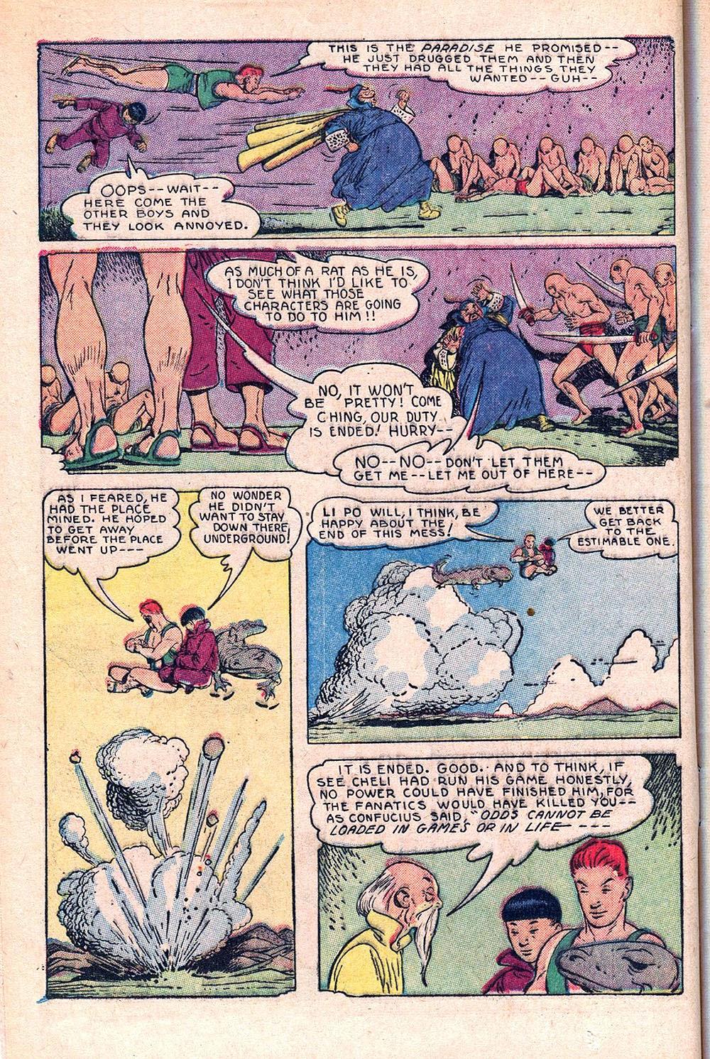 Read online Super-Magician Comics comic -  Issue #55 - 16