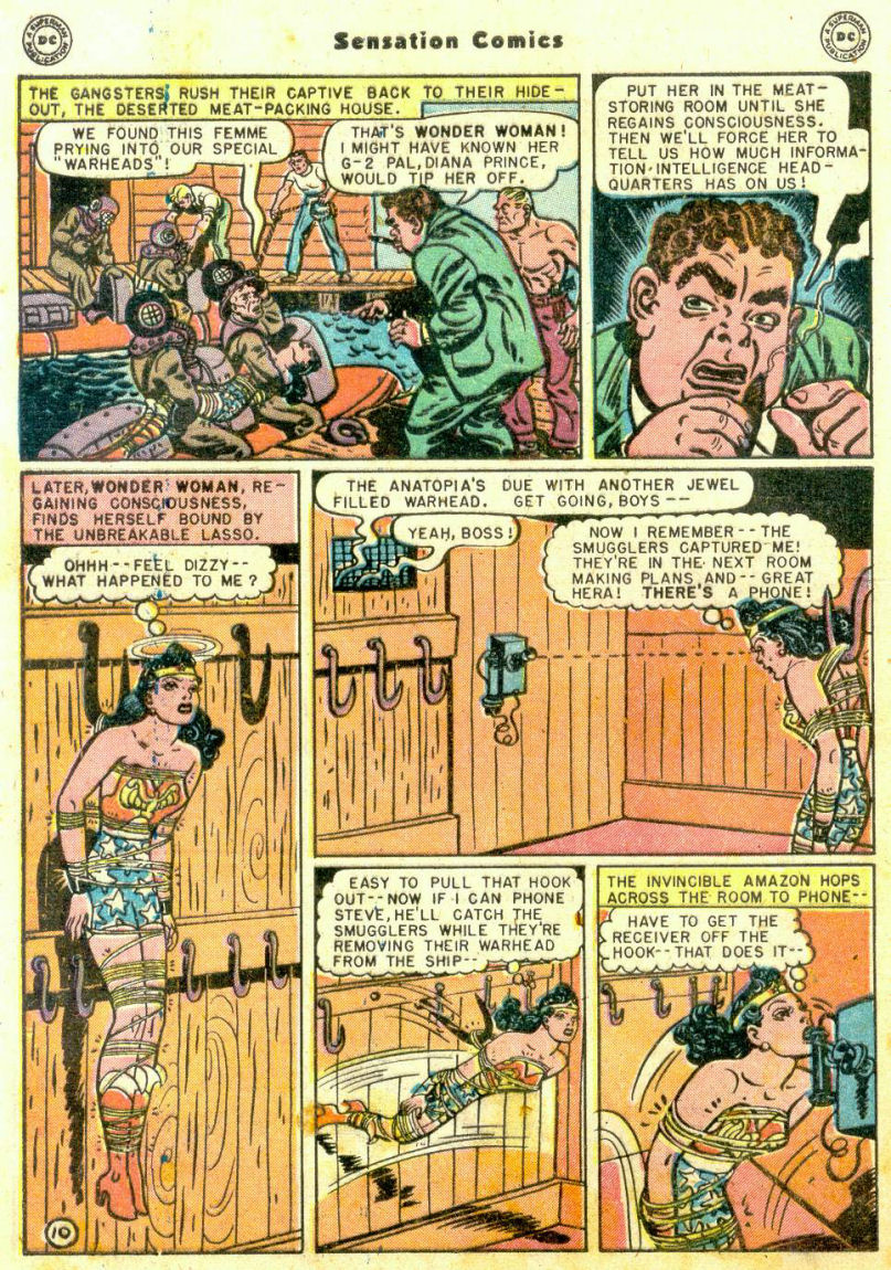 Read online Sensation (Mystery) Comics comic -  Issue #74 - 12