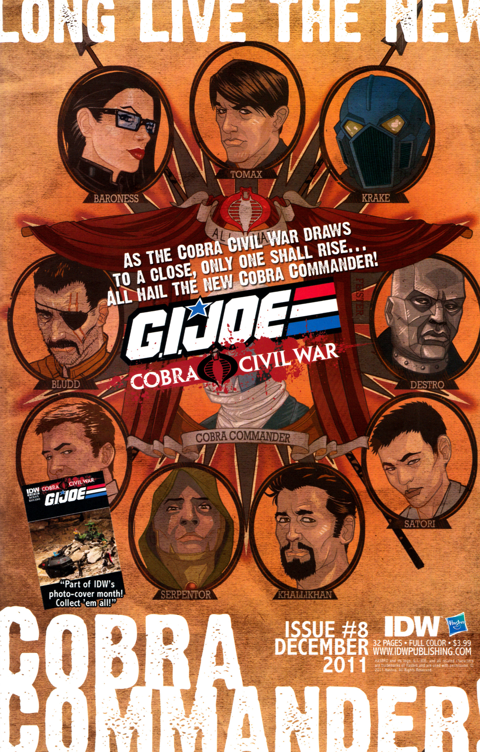 Read online G.I. Joe: Snake Eyes comic -  Issue #8 - 28