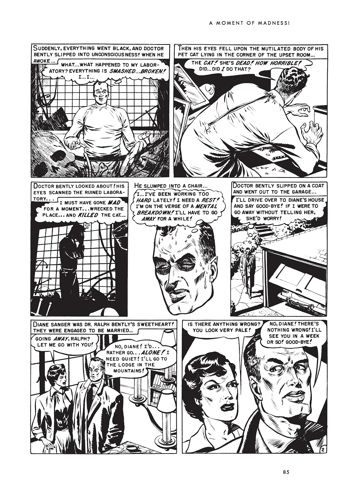 Read online Doctor of Horror and Other Stories comic -  Issue # TPB (Part 2) - 1
