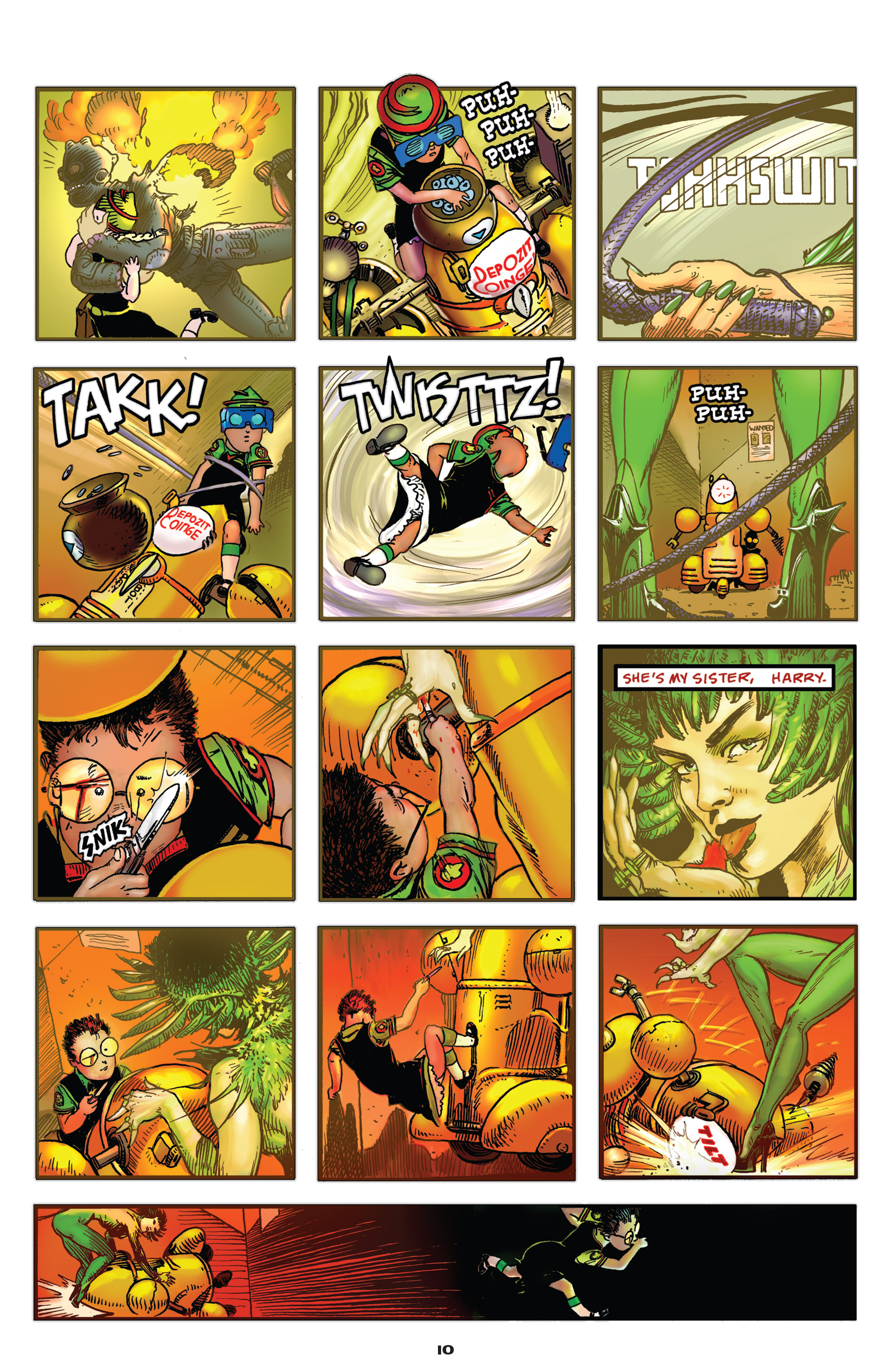Read online Starstruck: Old Proldiers Never Die comic -  Issue #4 - 11