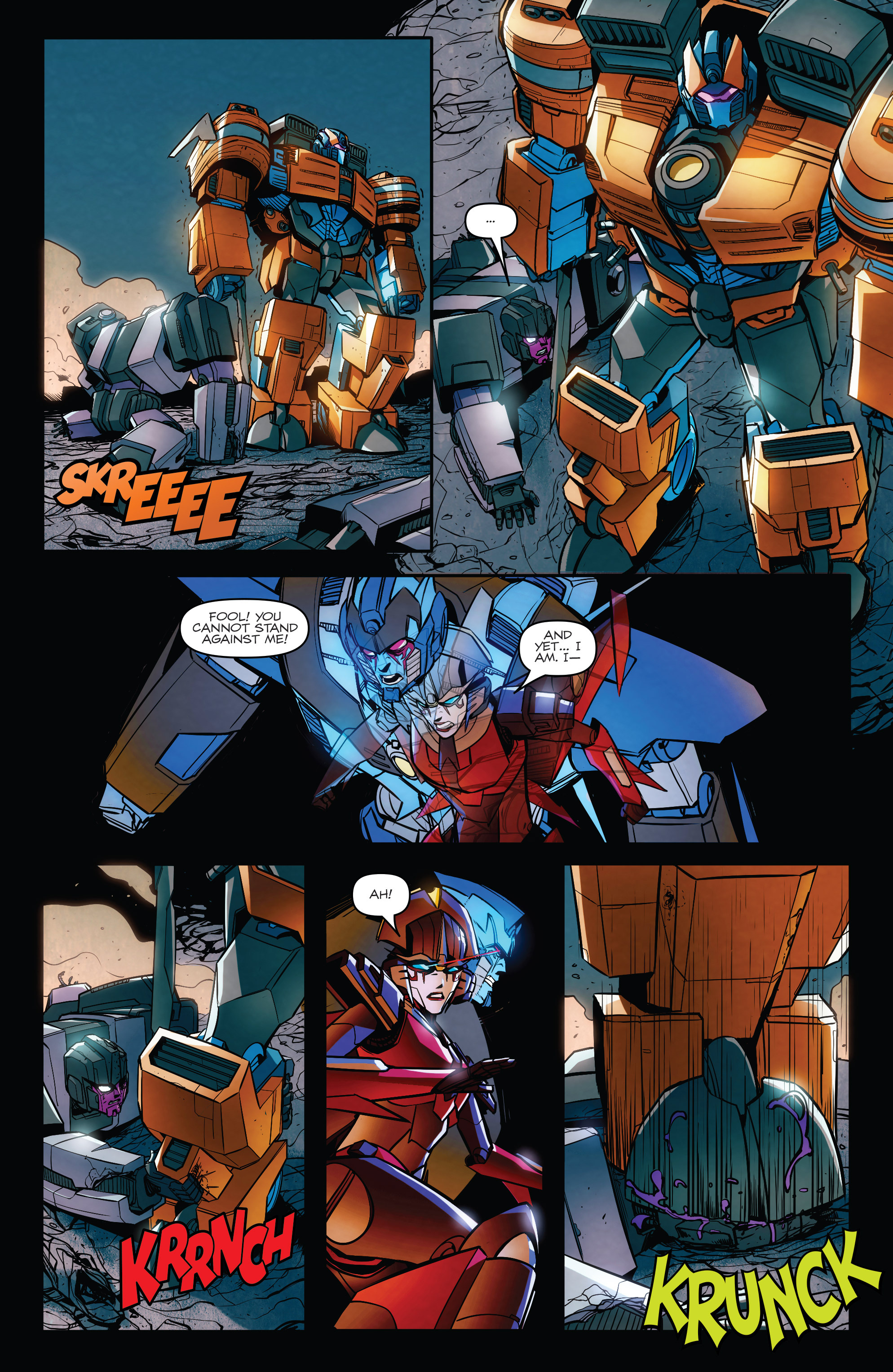 Read online Transformers: Till All Are One comic -  Issue #8 - 17