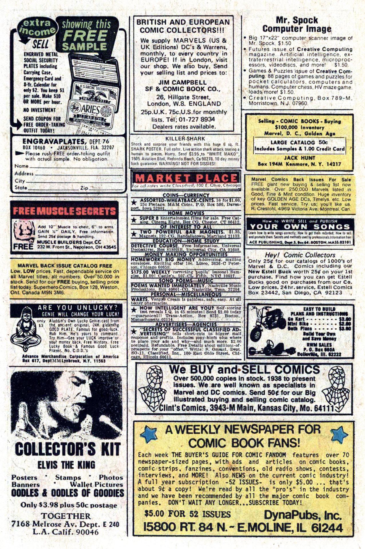 Read online Amazing Adventures (1970) comic -  Issue #39 - 10