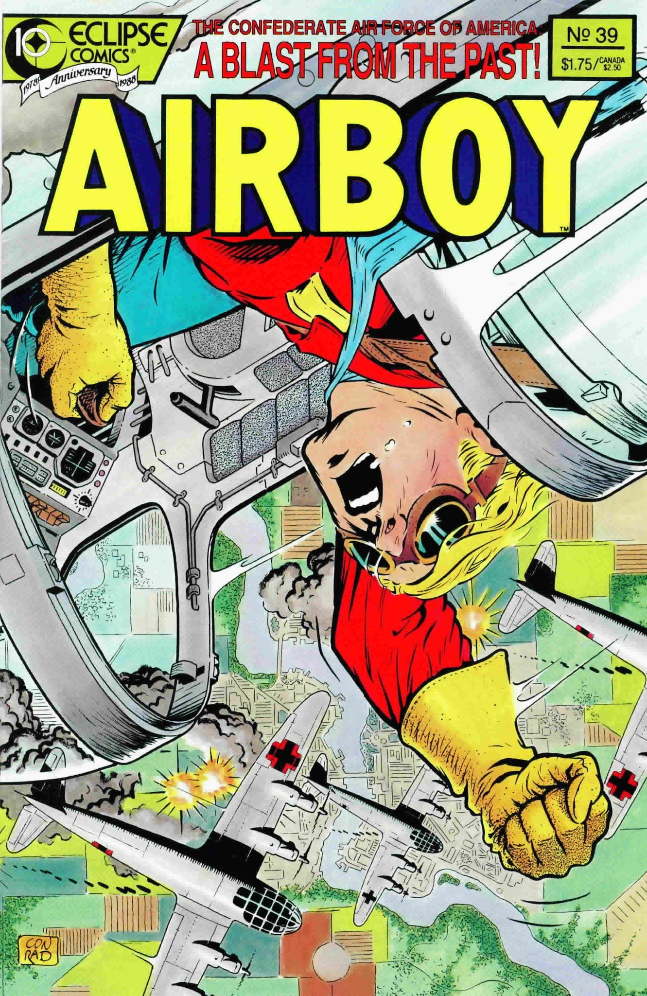 Airboy (1986) 39 Page 1