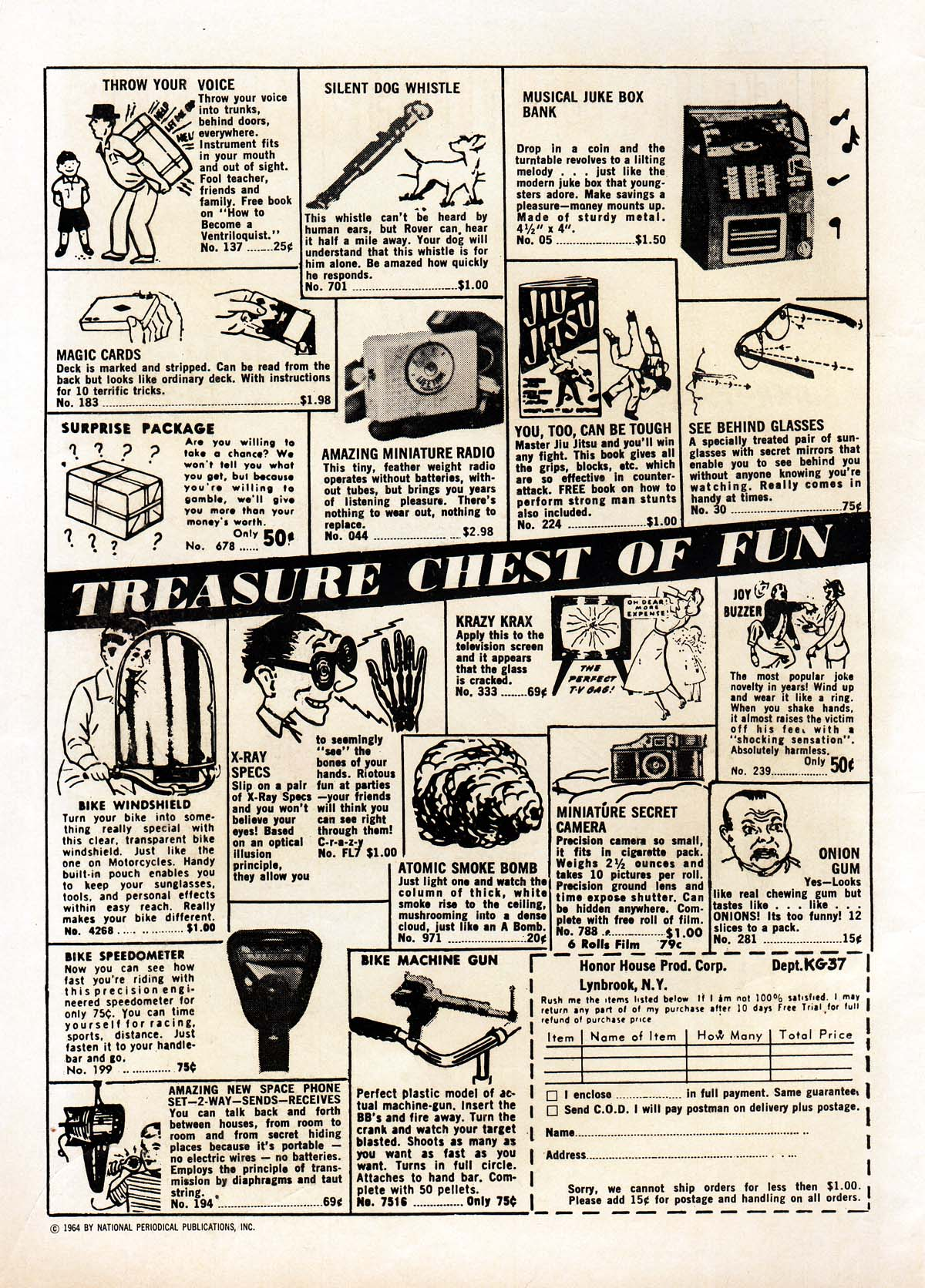 Read online Adventure Comics (1938) comic -  Issue #322 - 2