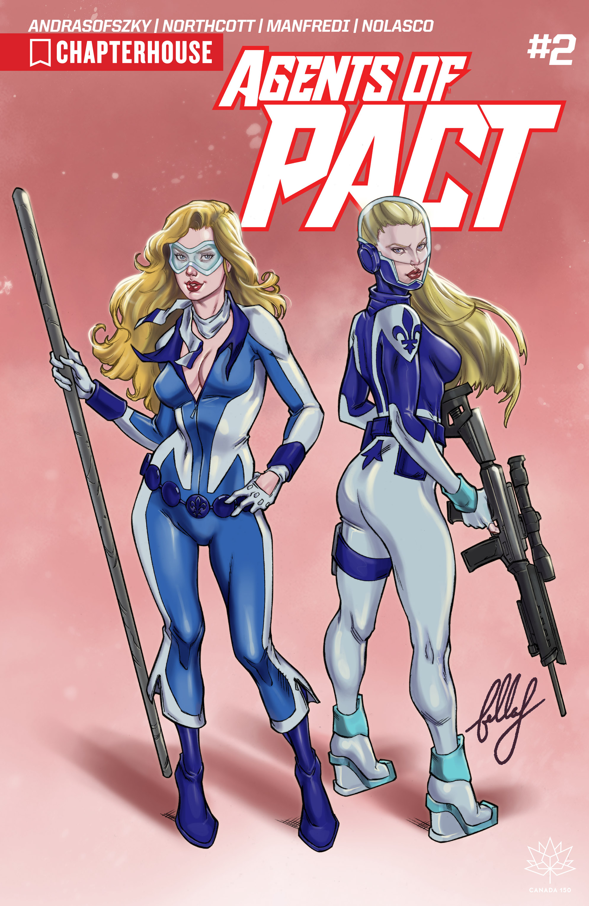 Read online Agents of P.A.C.T. comic -  Issue #2 - 1