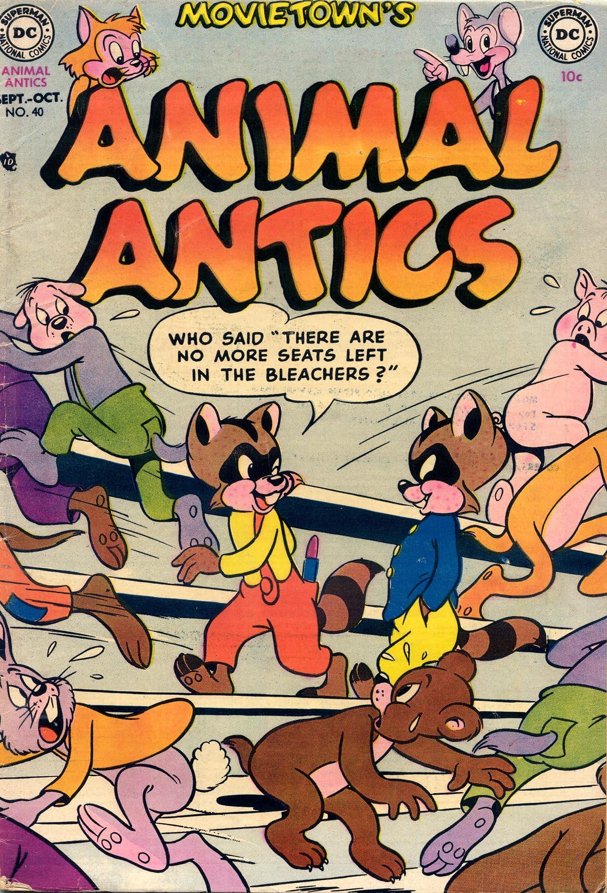Animal Antics 40 Page 1