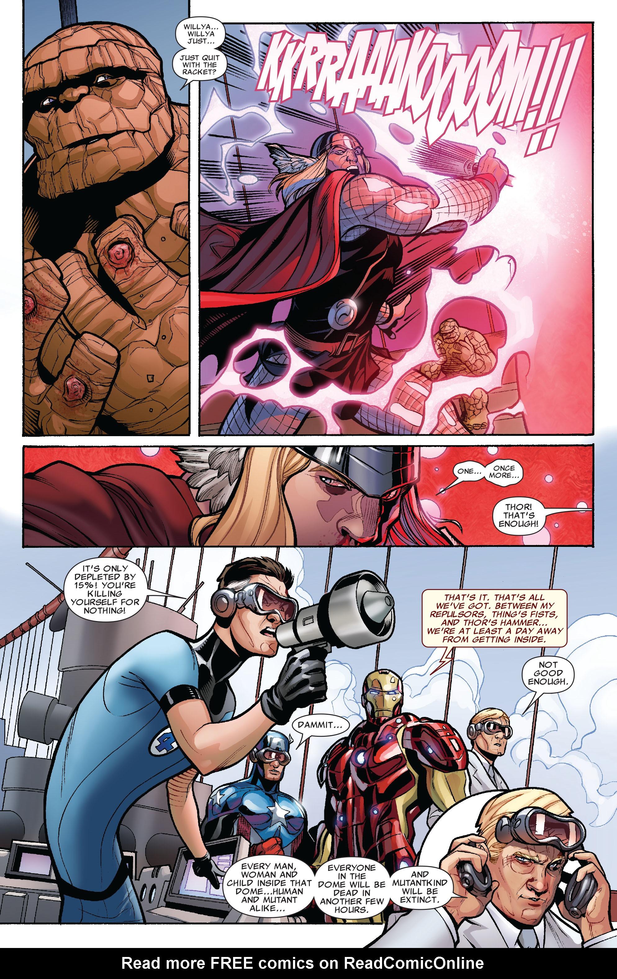Read online Uncanny X-Men (1963) comic -  Issue #525 - 22