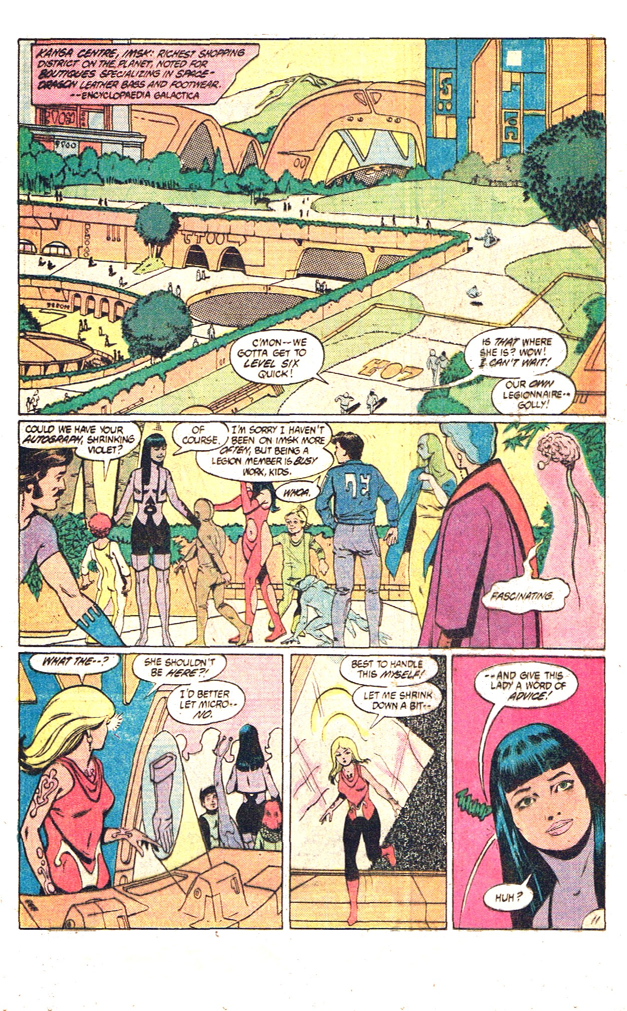 Legion of Super-Heroes (1980) 305 Page 15