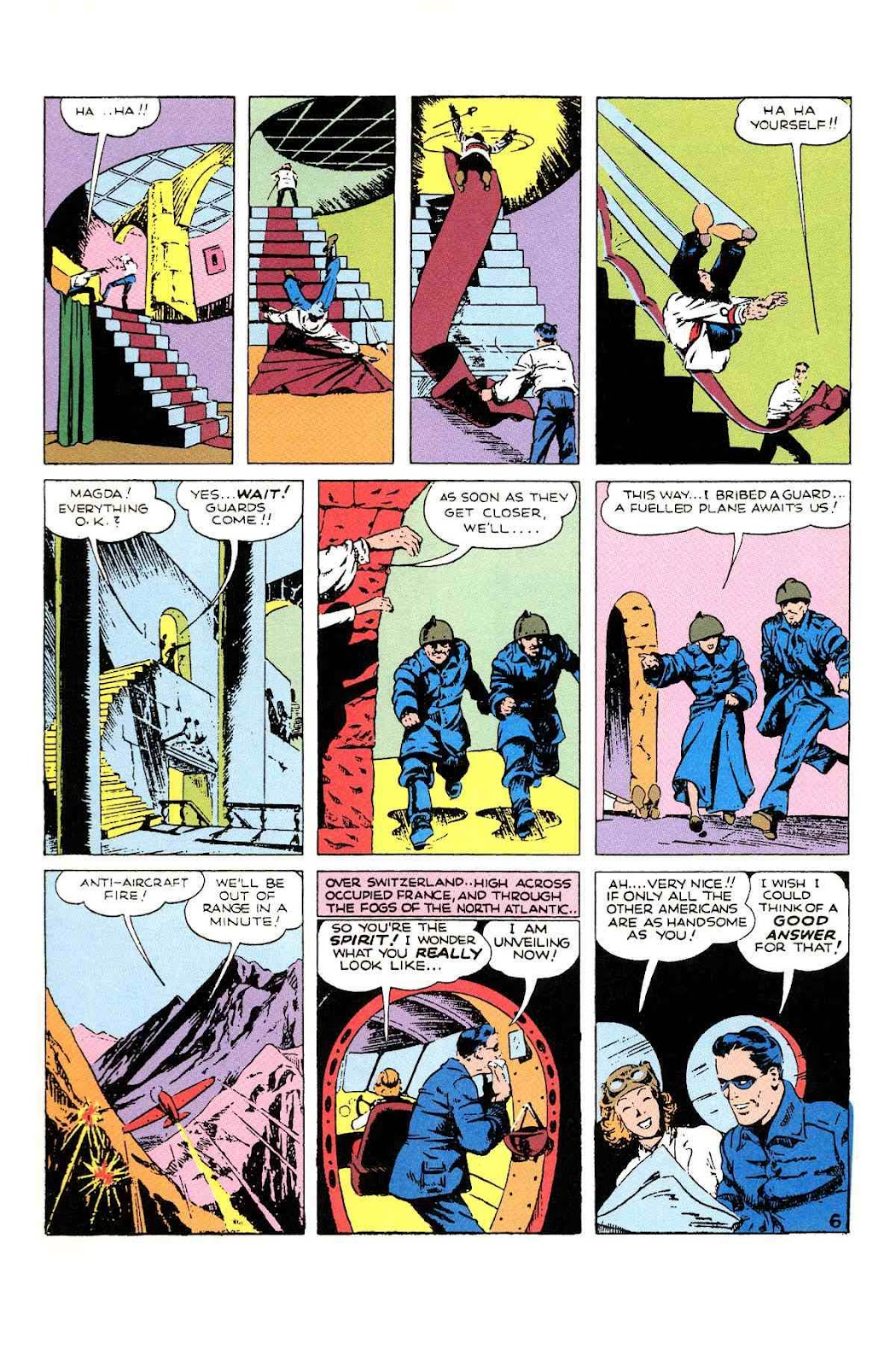 Read online Will Eisner's The Spirit Archives comic -  Issue # TPB 1 (Part 2) - 75