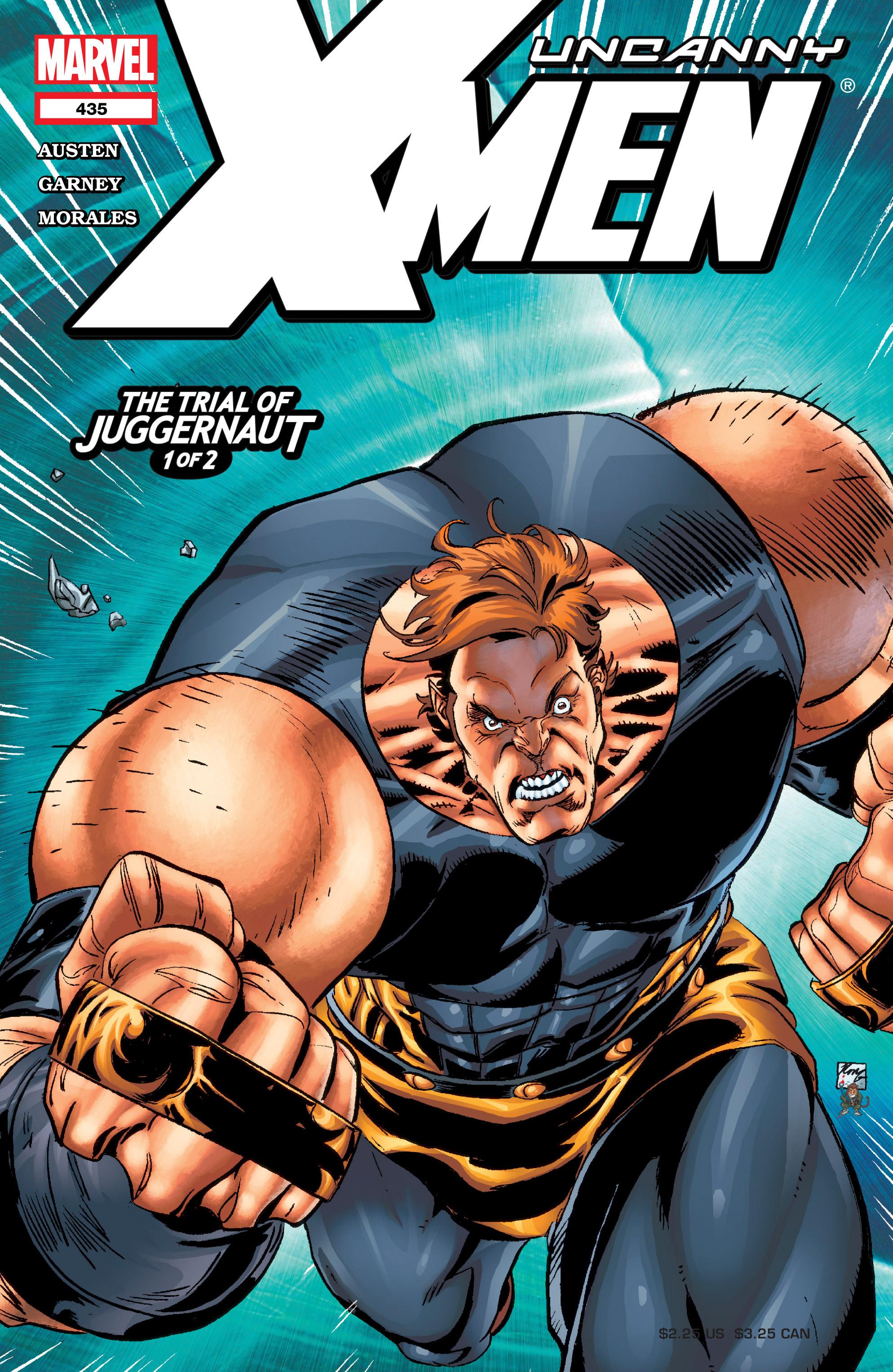 Read online Uncanny X-Men (1963) comic -  Issue #435 - 1