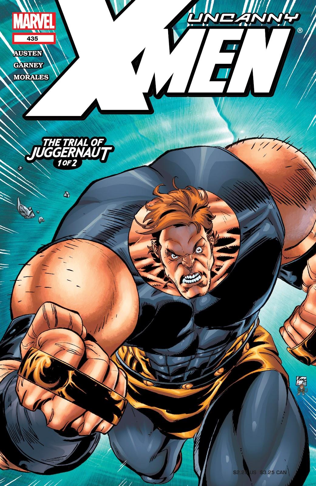 Uncanny X-Men (1963) issue 435 - Page 1