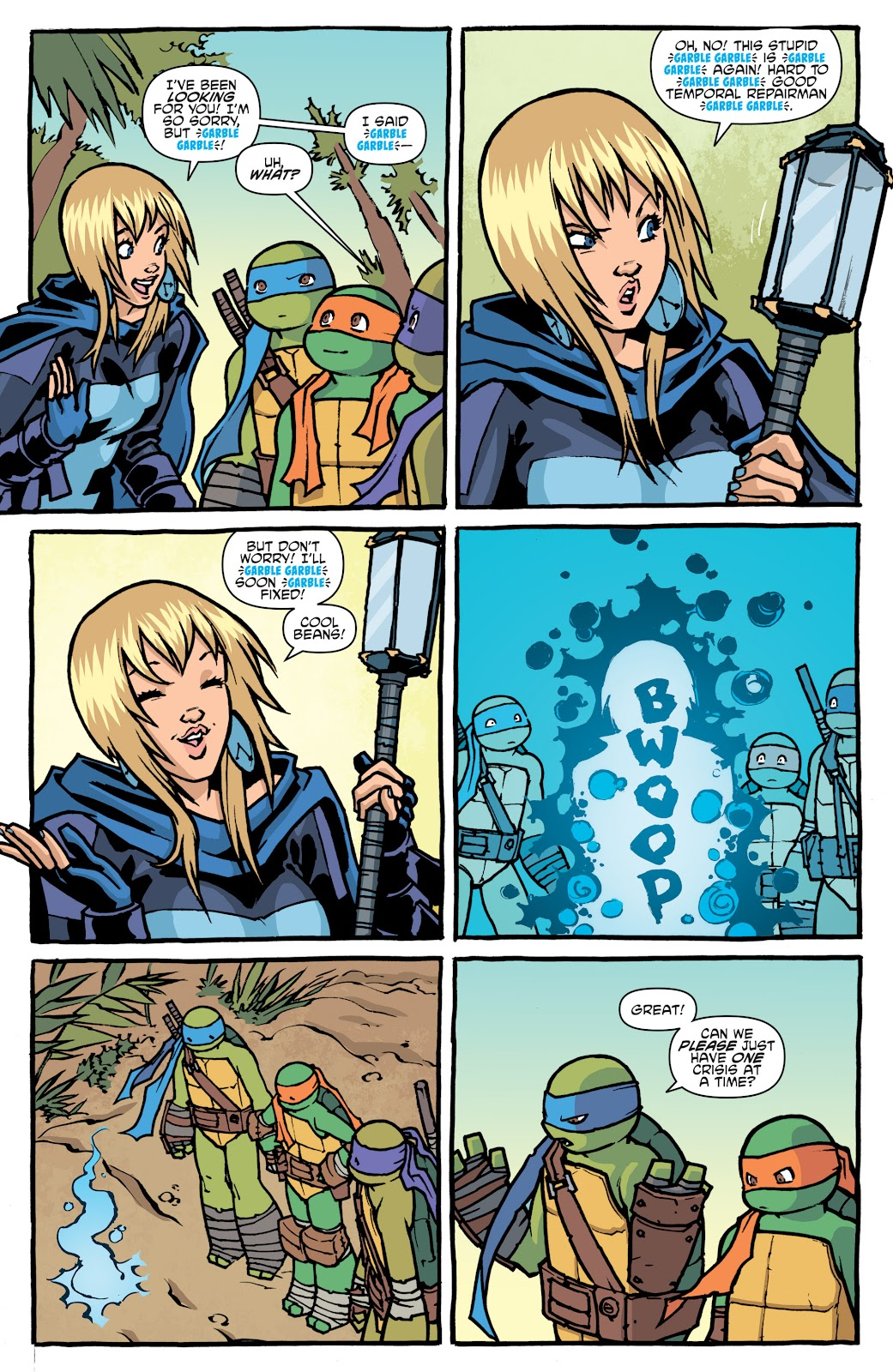 Read online Teenage Mutant Ninja Turtles: The IDW Collection comic -  Issue # TPB 5 (Part 1) - 17