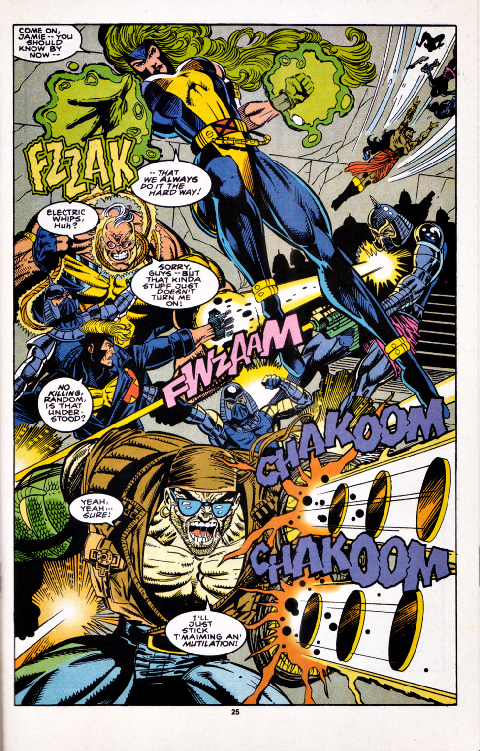 Read online X-Factor (1986) comic -  Issue #100 - 21