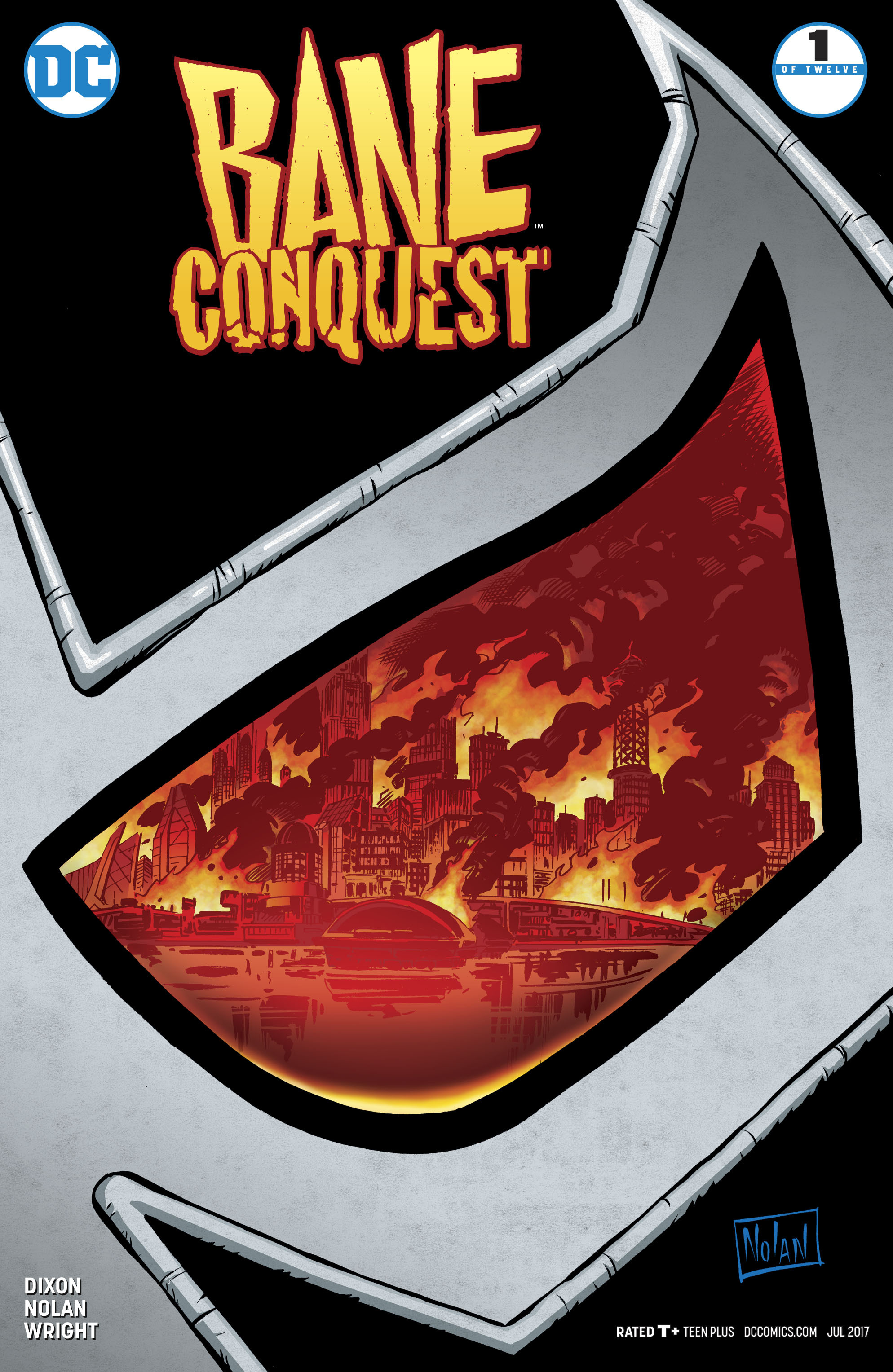 Read online Bane: Conquest comic -  Issue #1 - 1