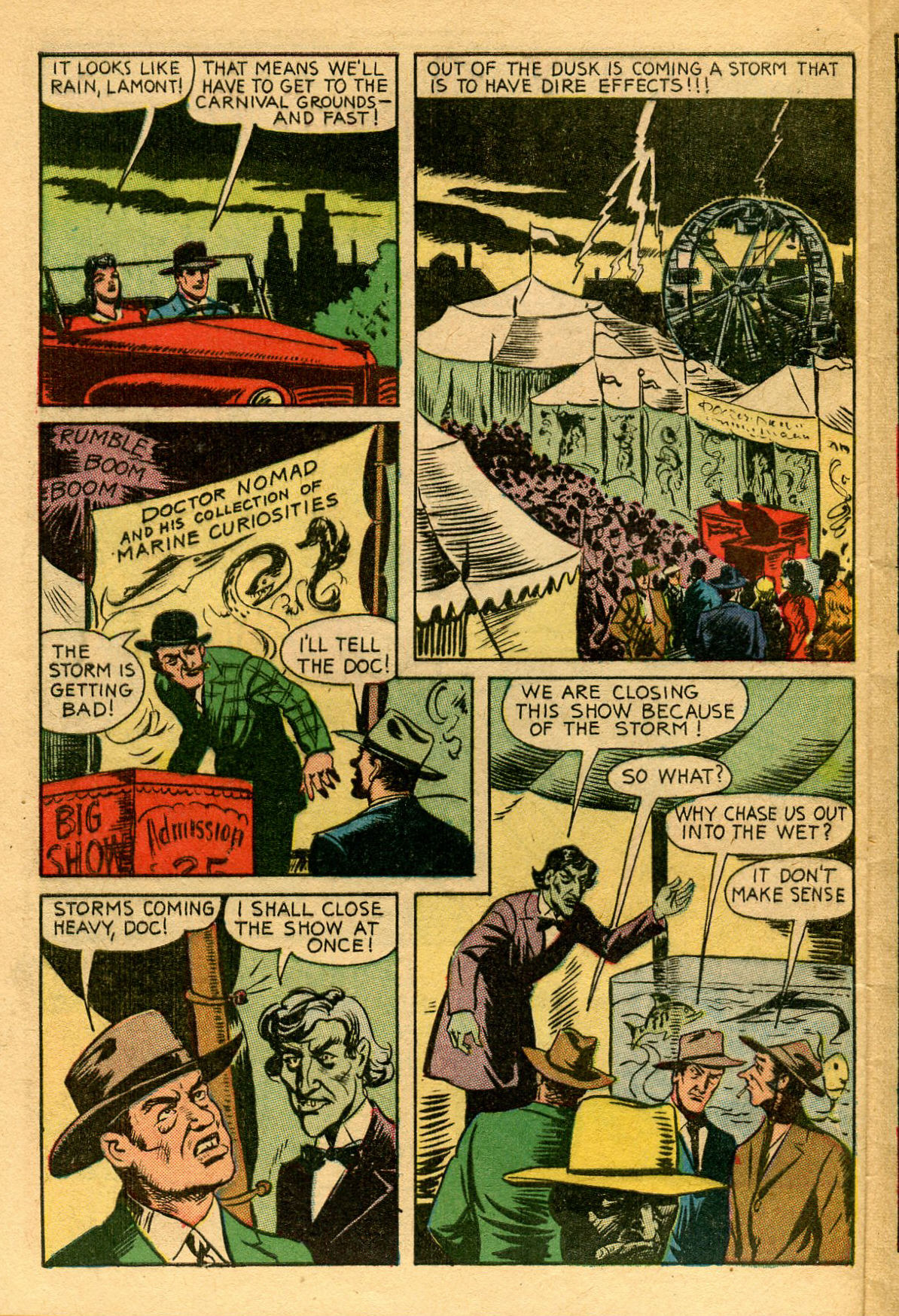 Read online Shadow Comics comic -  Issue #53 - 5