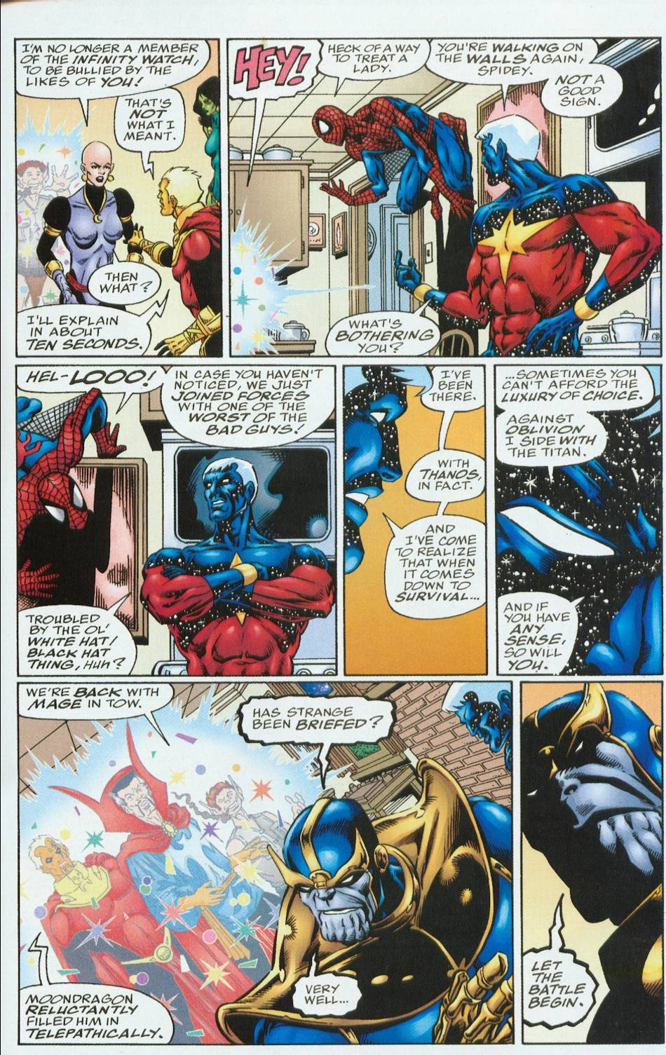 Read online Infinity Abyss comic -  Issue #6 - 16