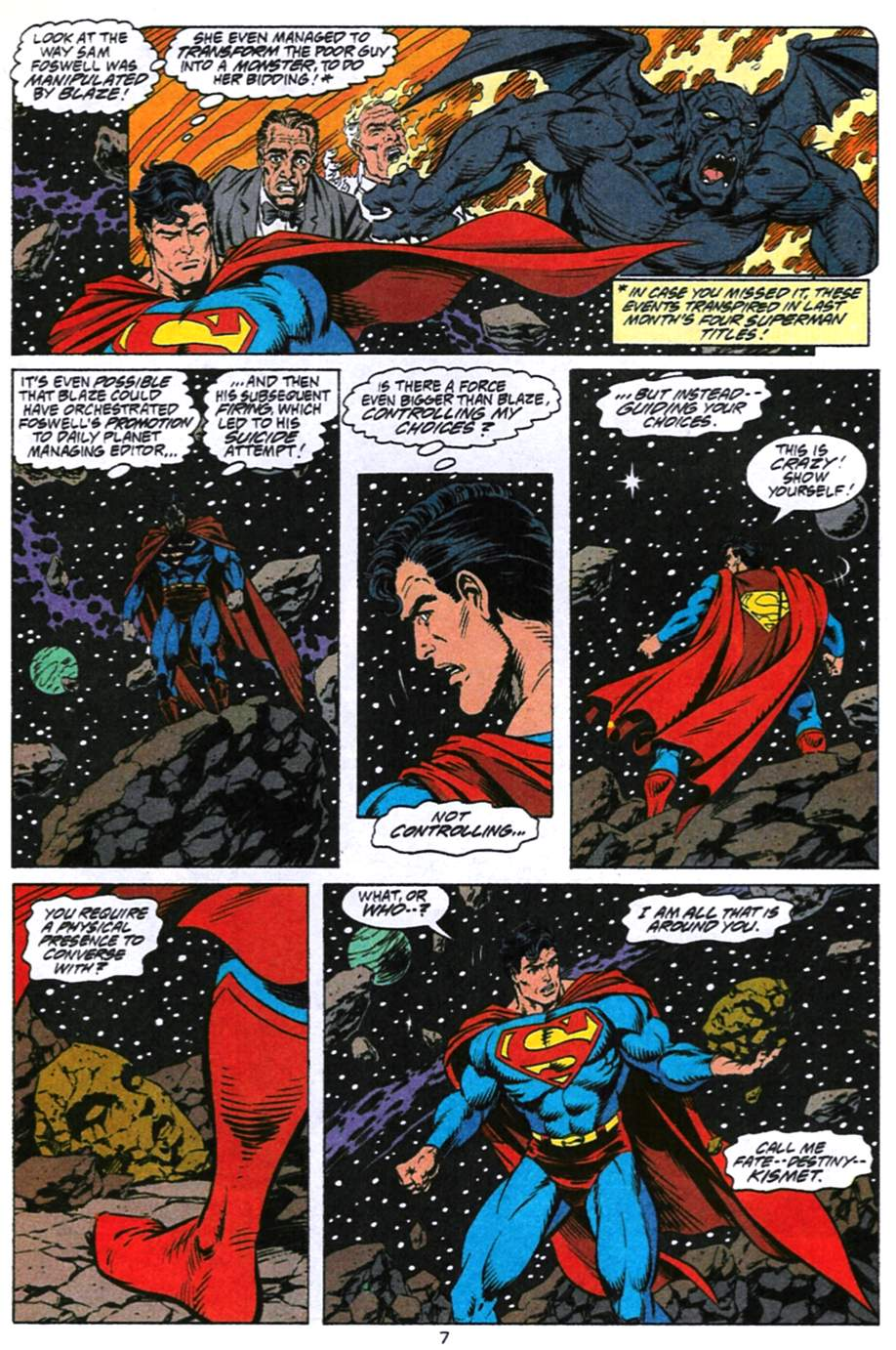 Read online Adventures of Superman (1987) comic -  Issue #494 - 8