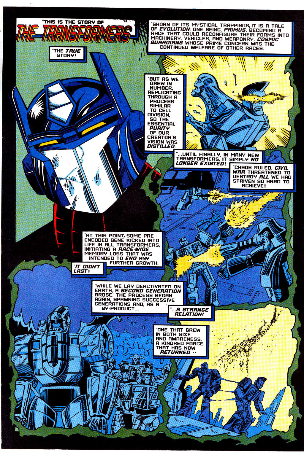 Read online Transformers: Generation 2 comic -  Issue #12 - 2