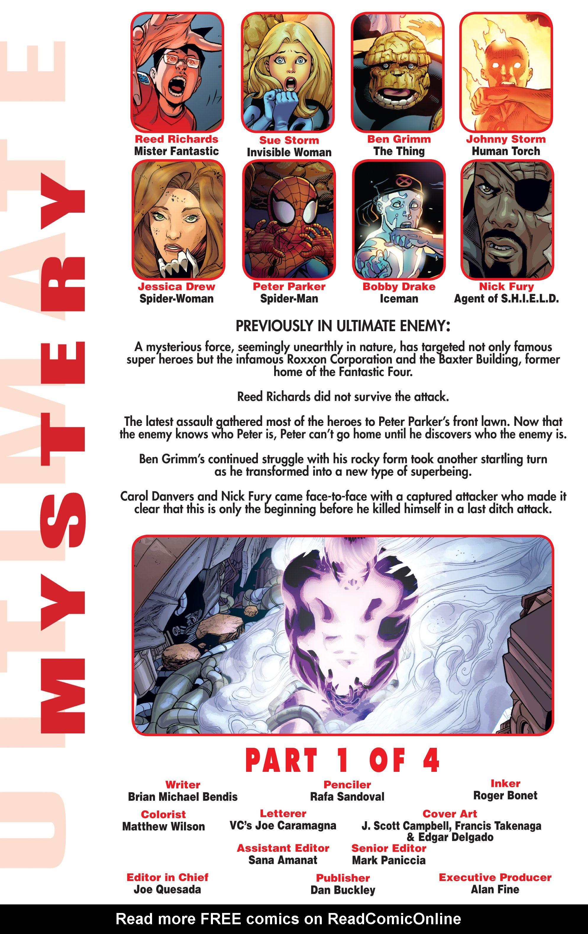 Read online Ultimate Mystery comic -  Issue #1 - 2