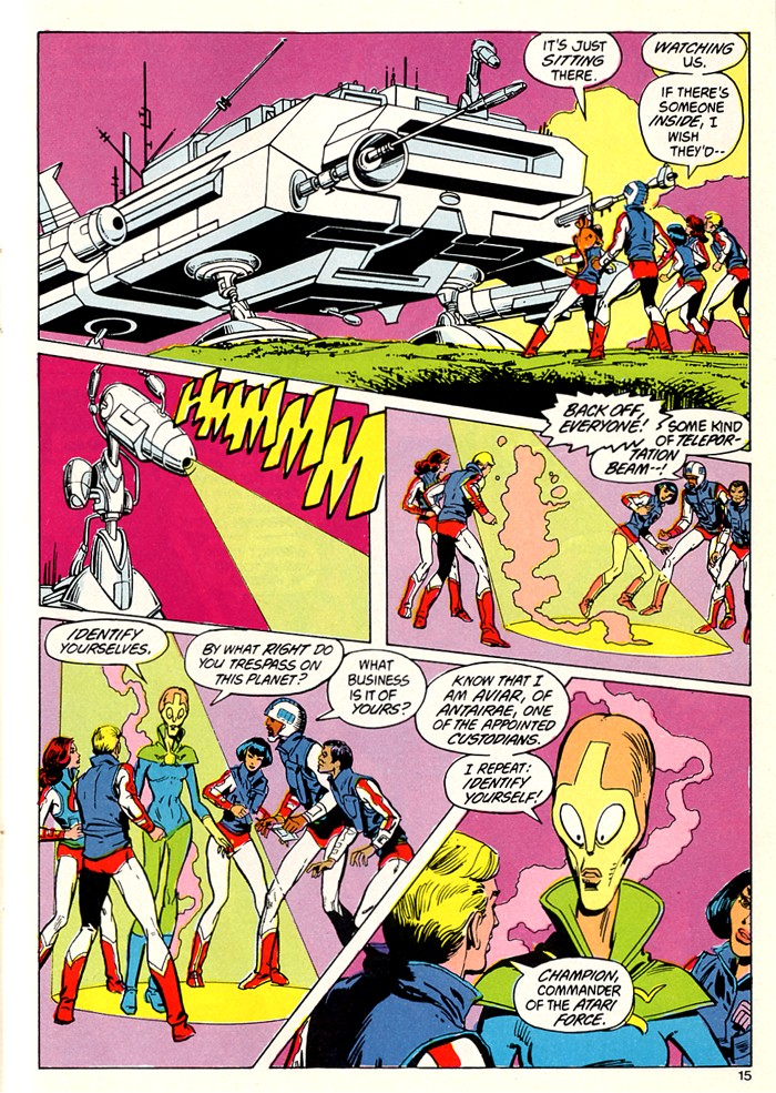 Read online Atari Force (1982) comic -  Issue #5 - 17
