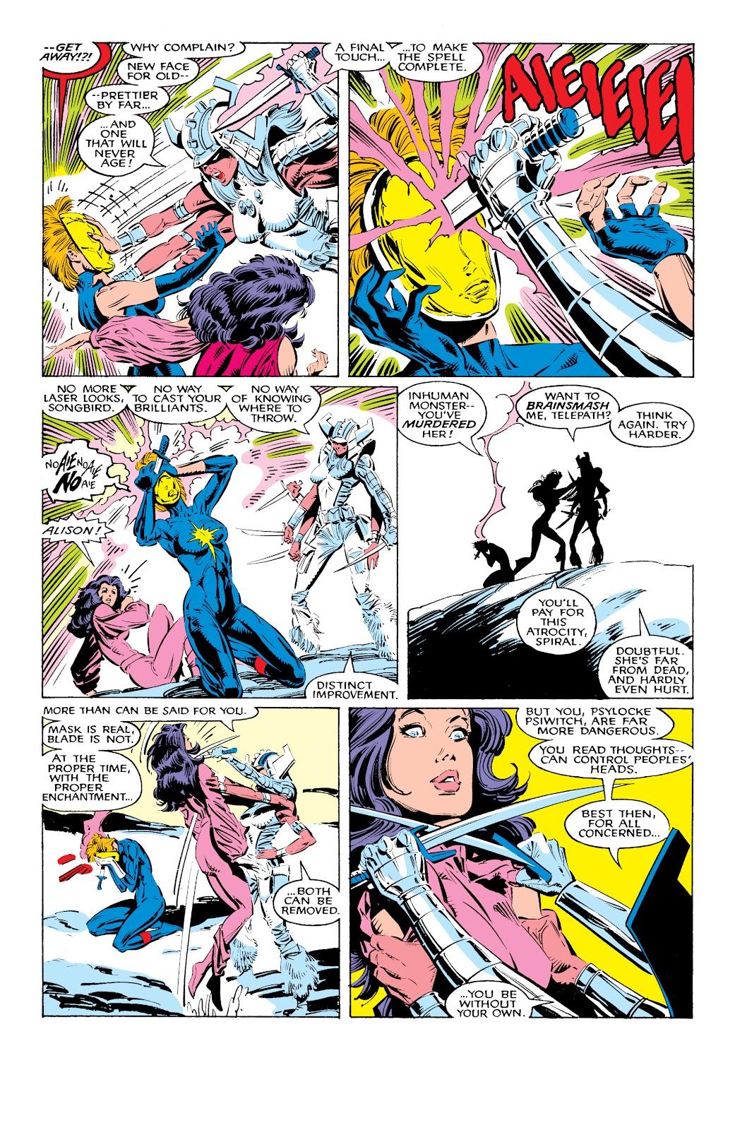 Read online X-Men Milestones: Fall of the Mutants comic -  Issue # TPB (Part 1) - 33