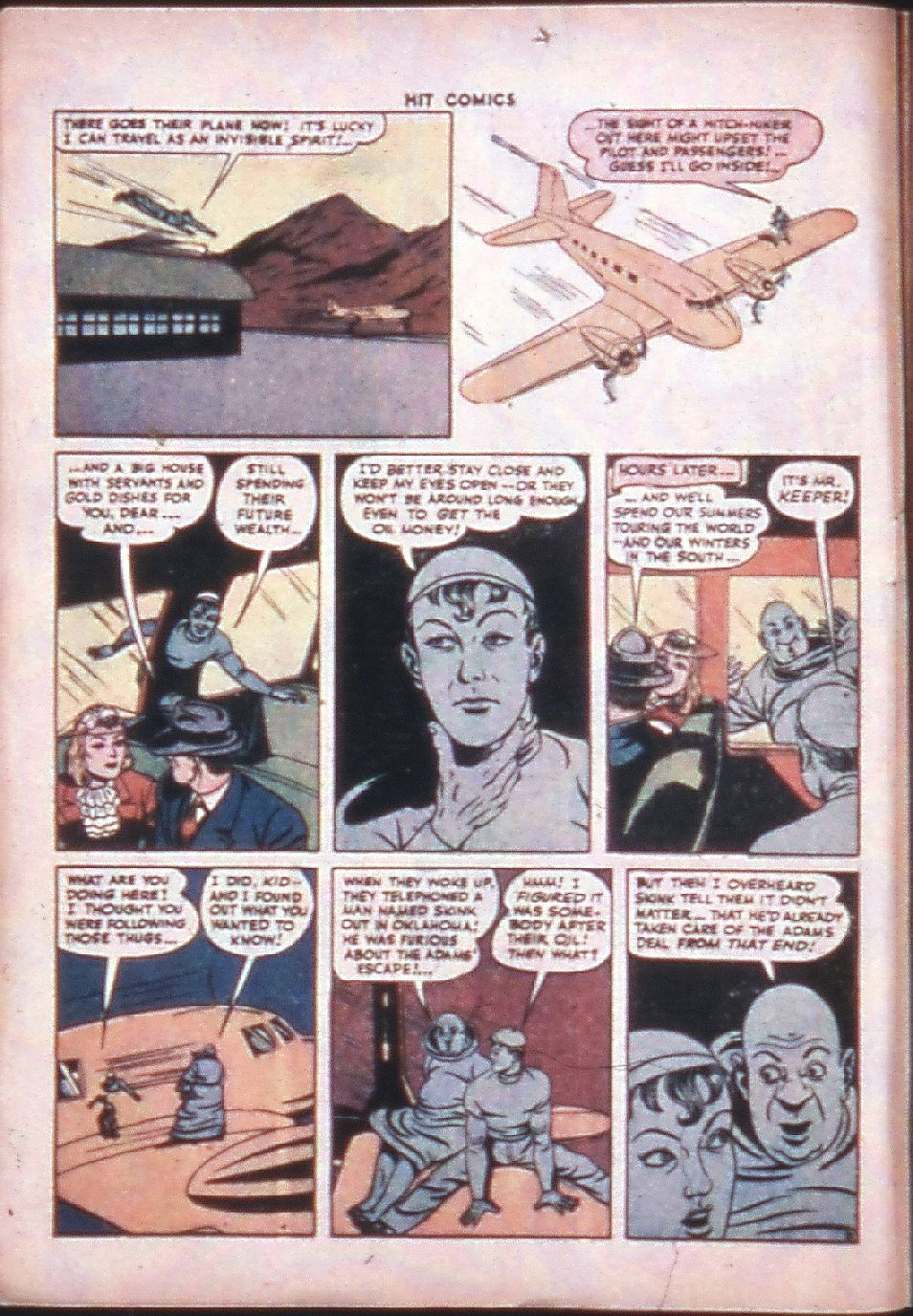 Read online Hit Comics comic -  Issue #33 - 8
