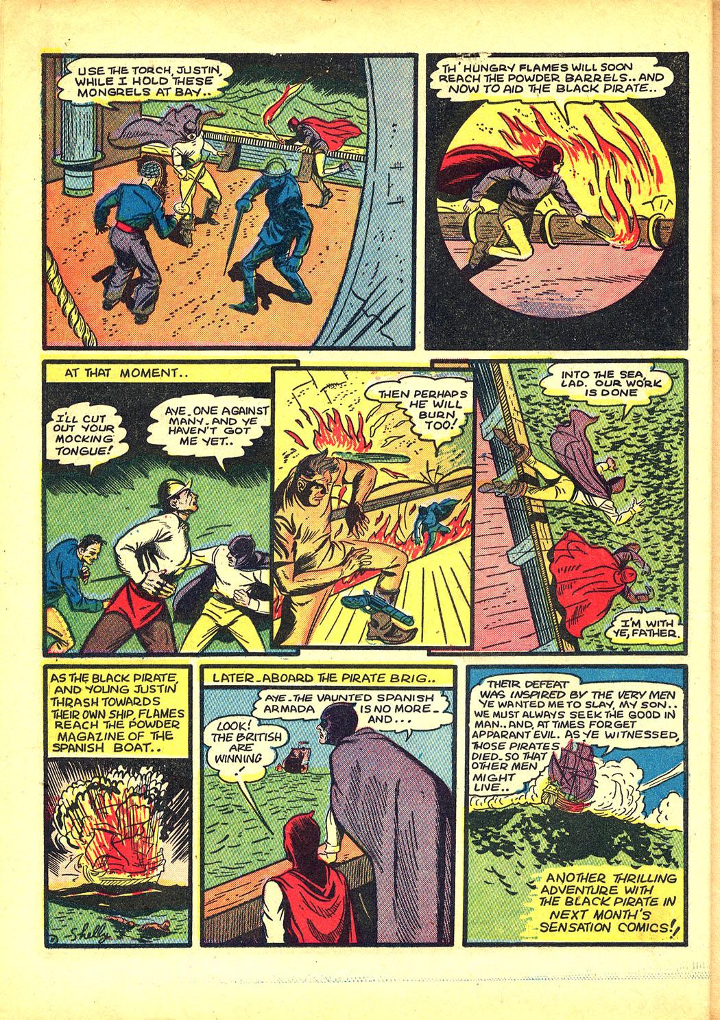 Read online Sensation (Mystery) Comics comic -  Issue #8 - 24