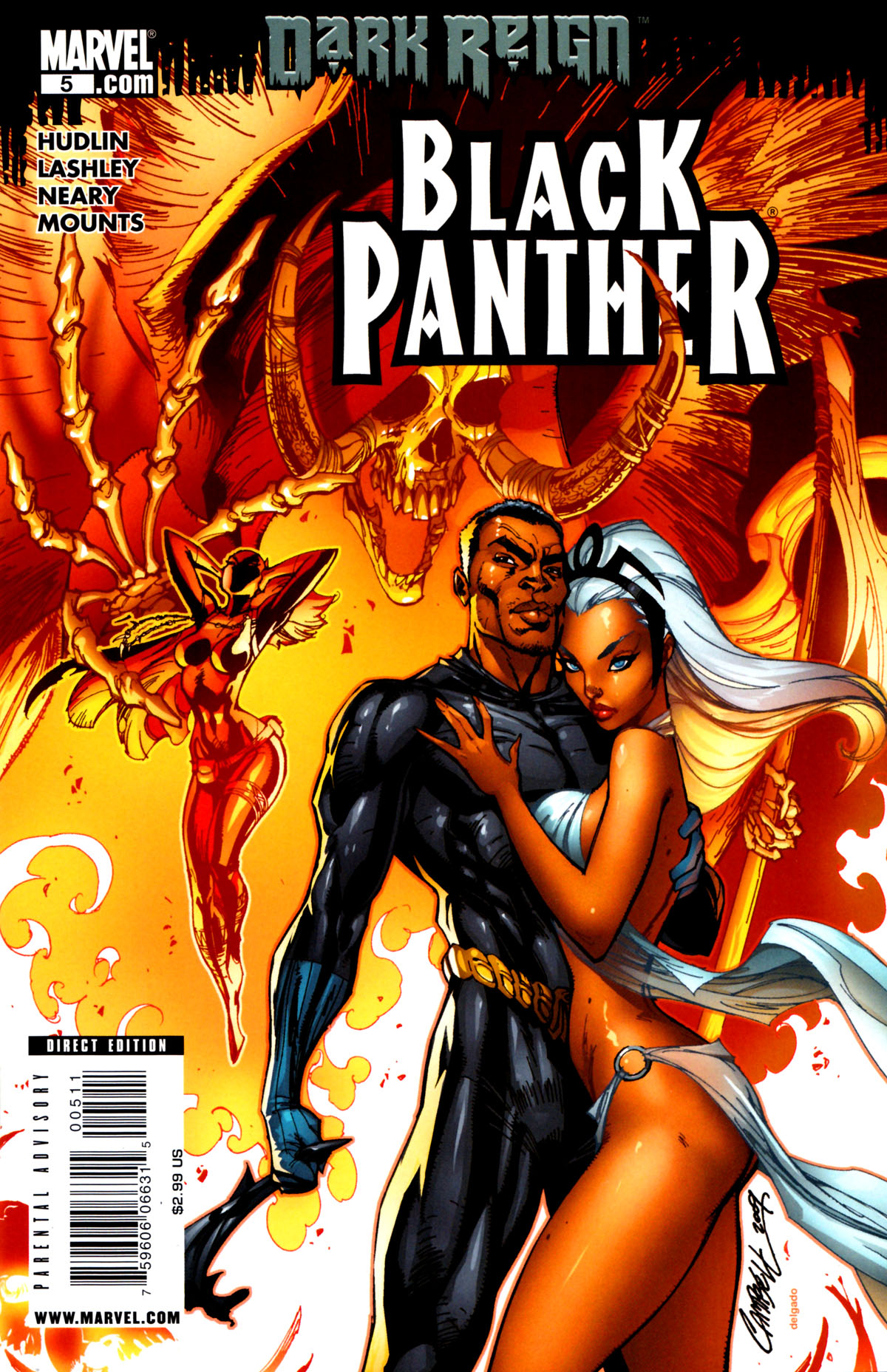 Black Panther (2009) 5 Page 1