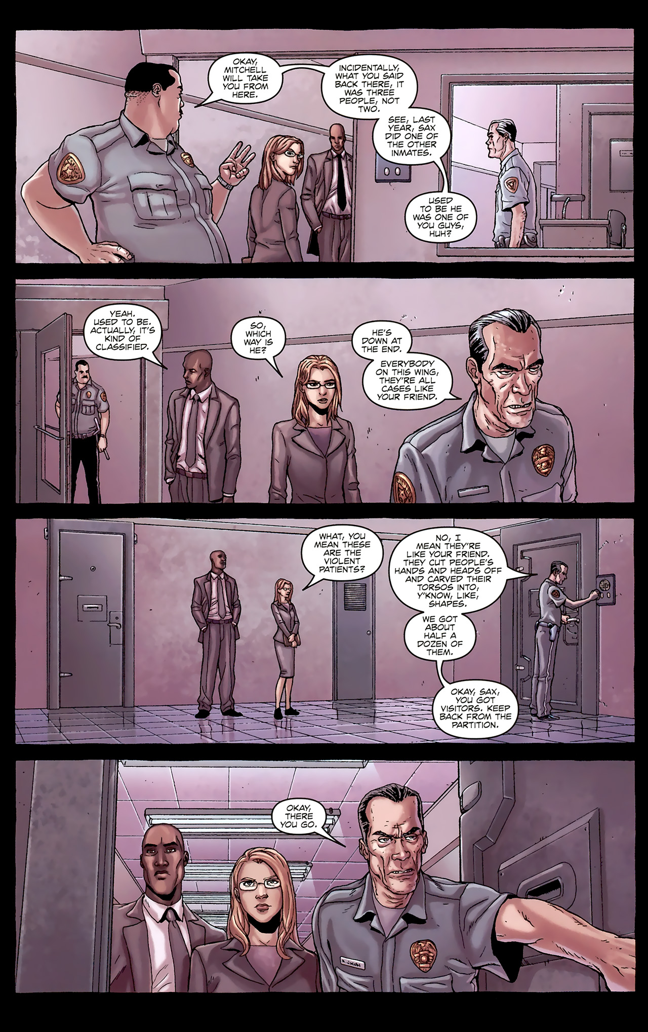 Read online Alan Moore's Neonomicon comic -  Issue #1 - 15